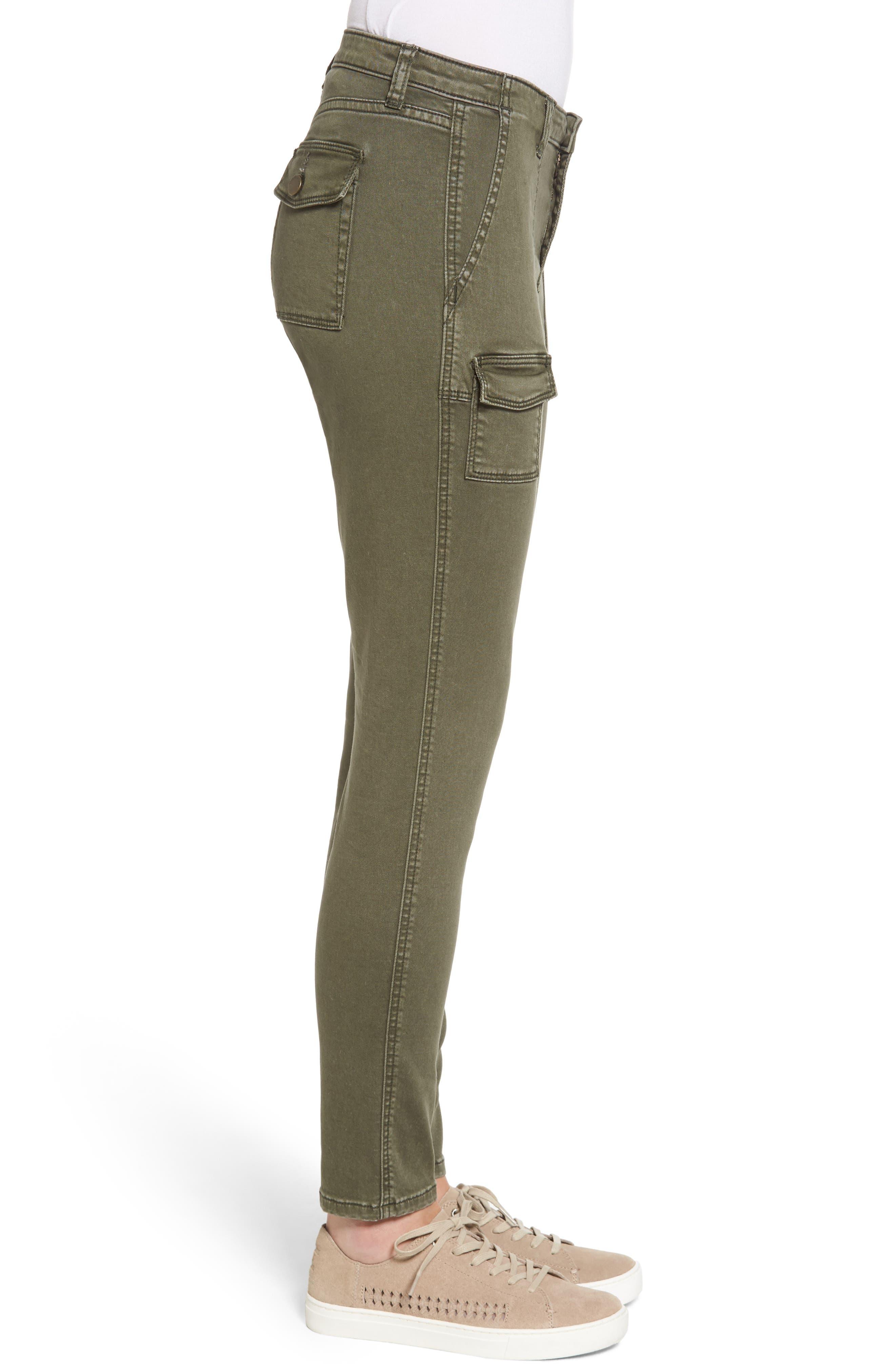 Slim Utility Pants,                             Alternate thumbnail 6, color,