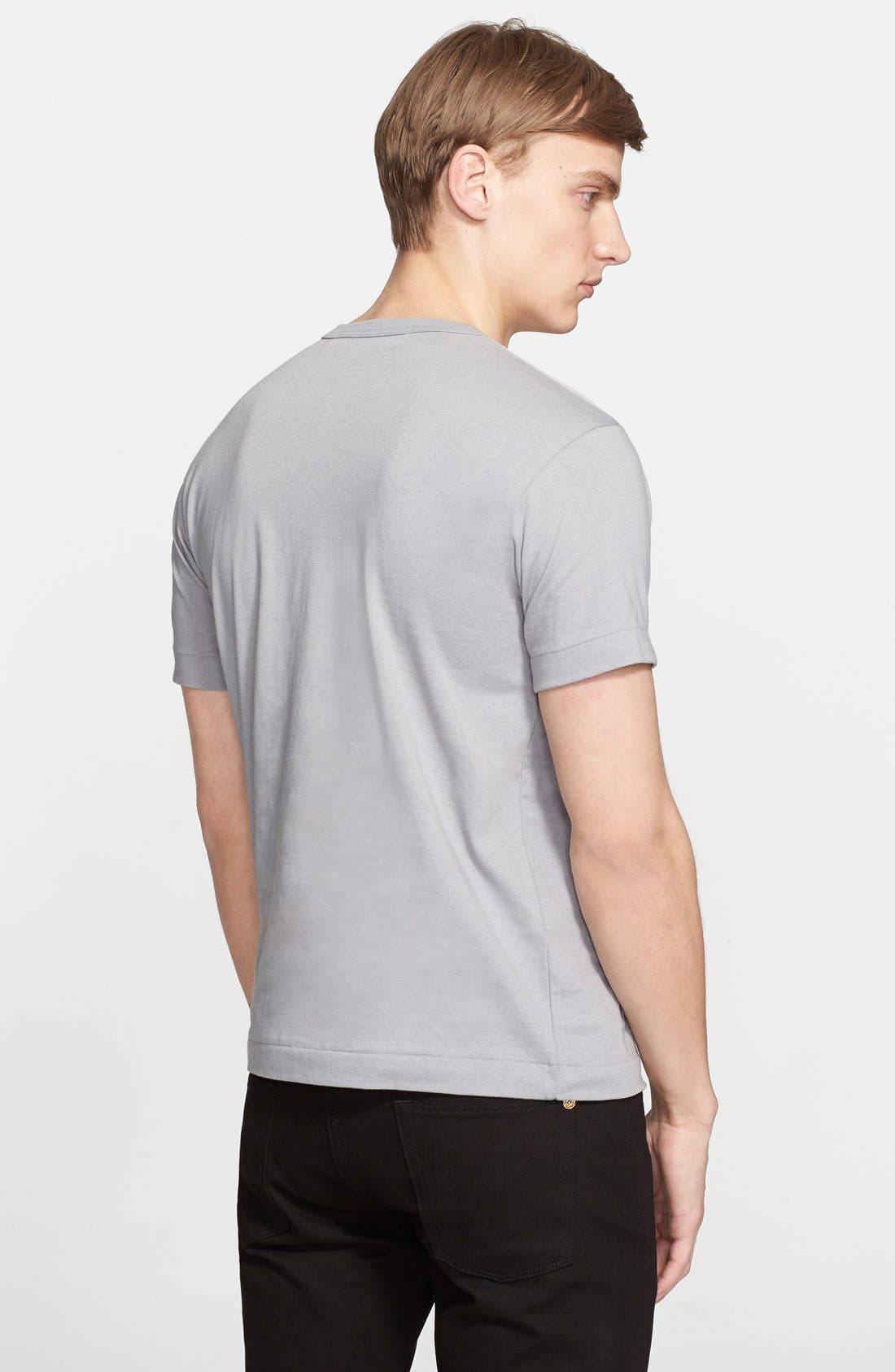 Cotton Jersey T-Shirt,                             Alternate thumbnail 2, color,                             020