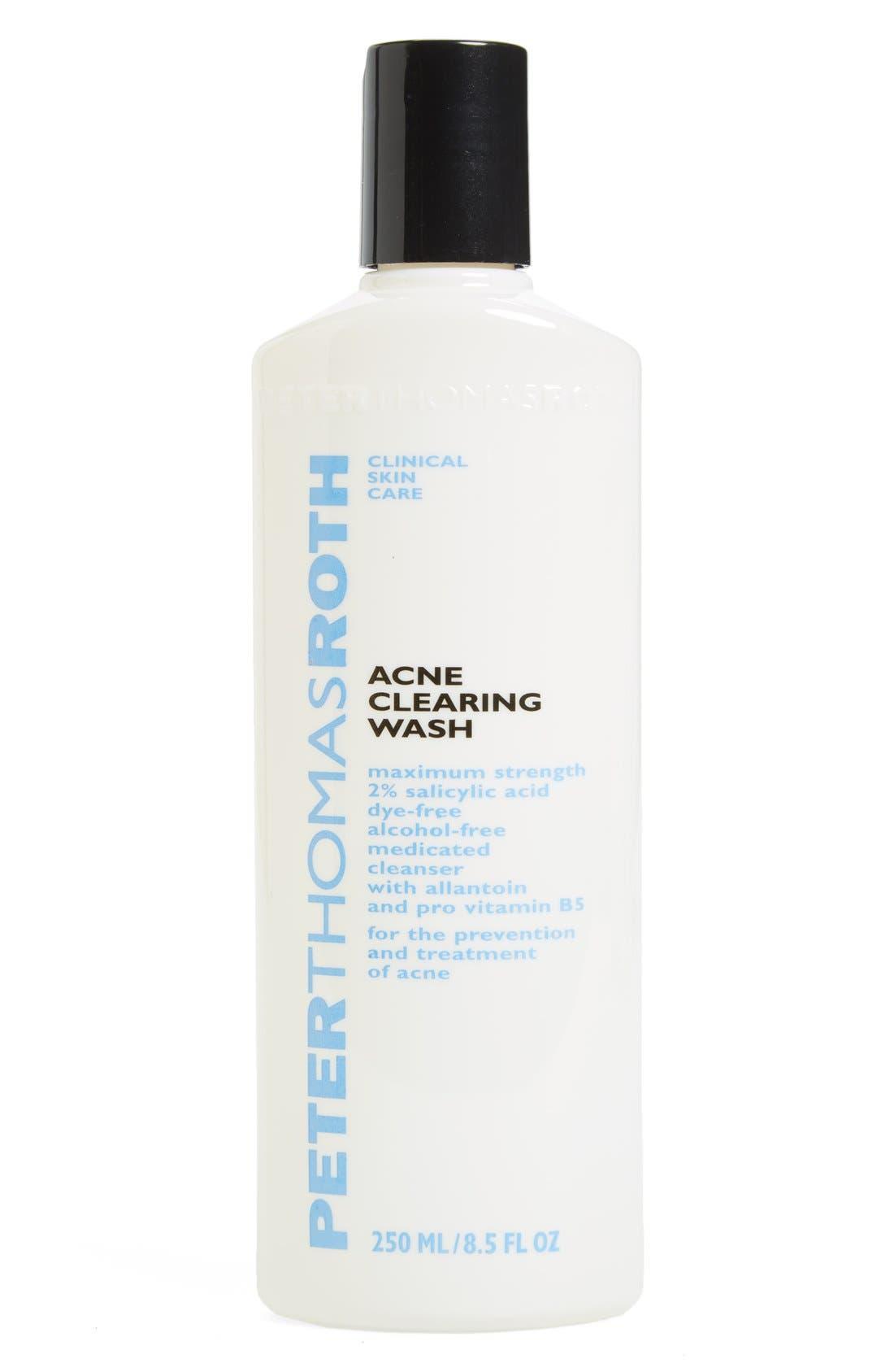 Acne Clearing Wash,                             Main thumbnail 1, color,                             NO COLOR