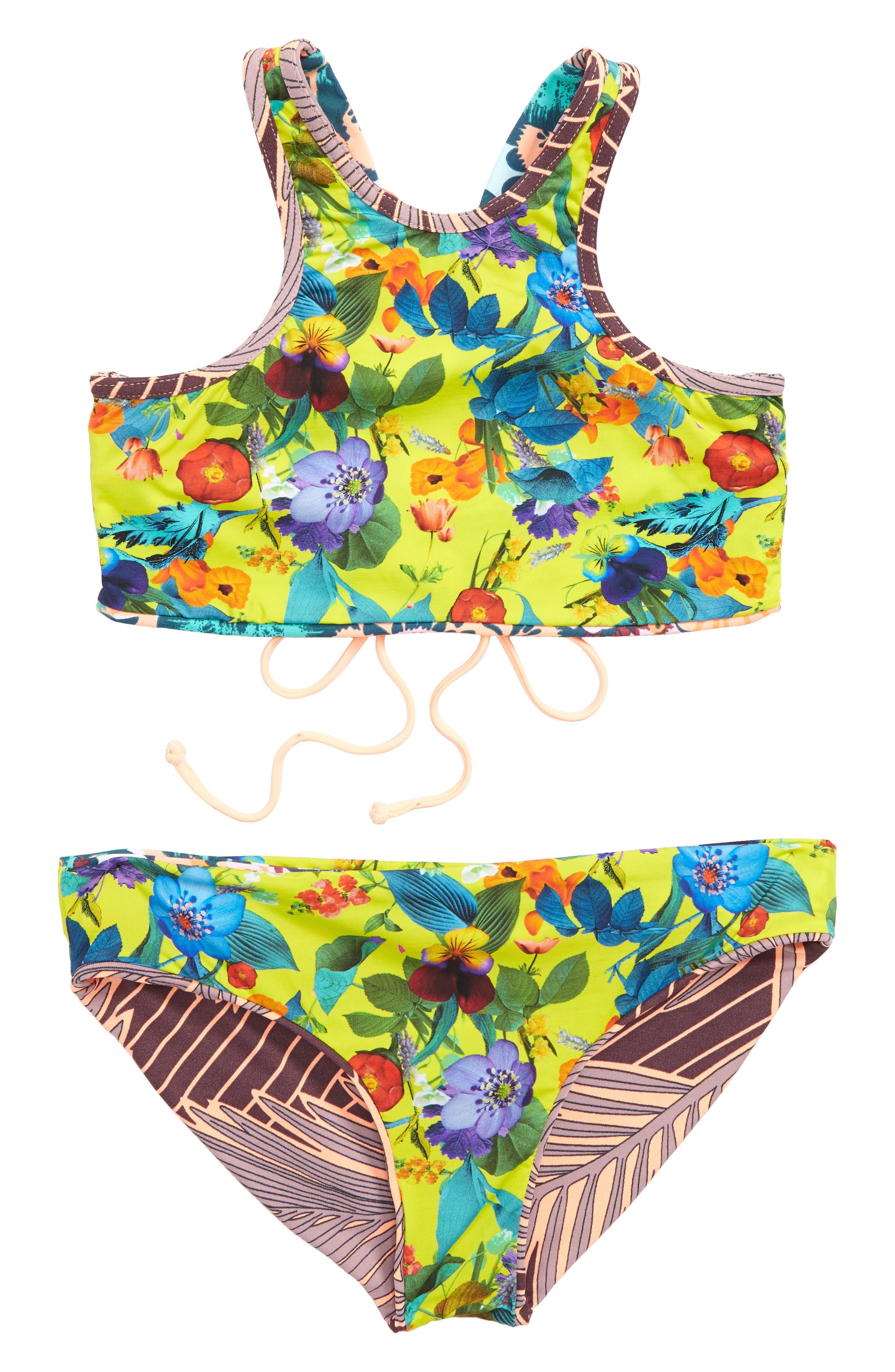 Dusty Storm Reversible Two-Piece Swimsuit,                             Alternate thumbnail 2, color,                             650