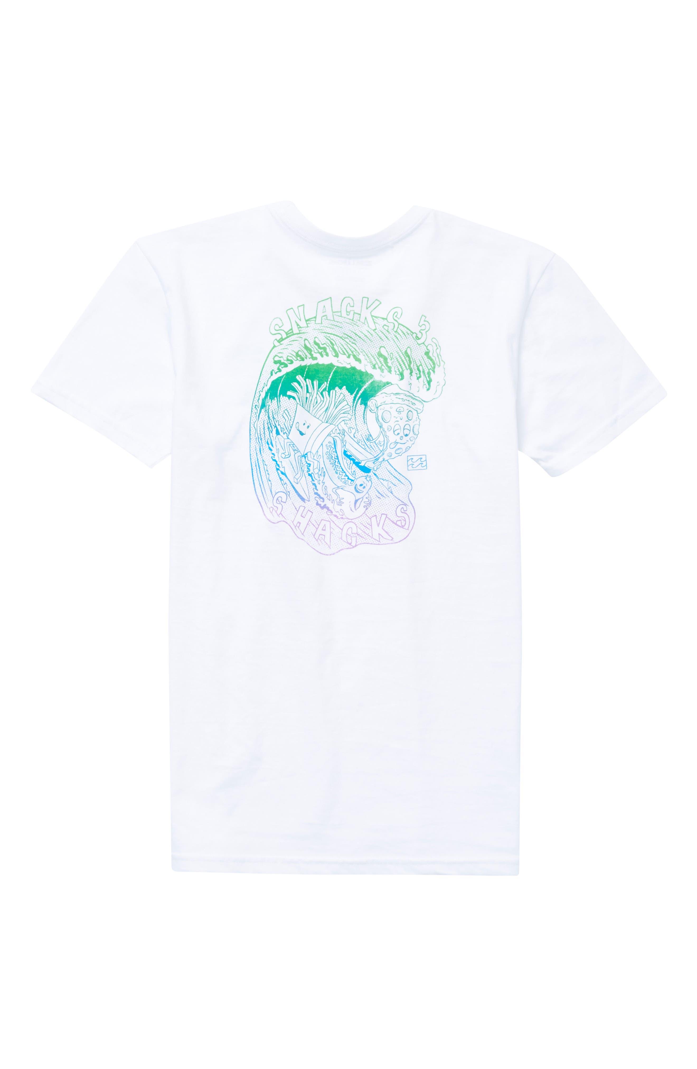 Snacks & Shacks Graphic T-Shirt,                             Alternate thumbnail 5, color,