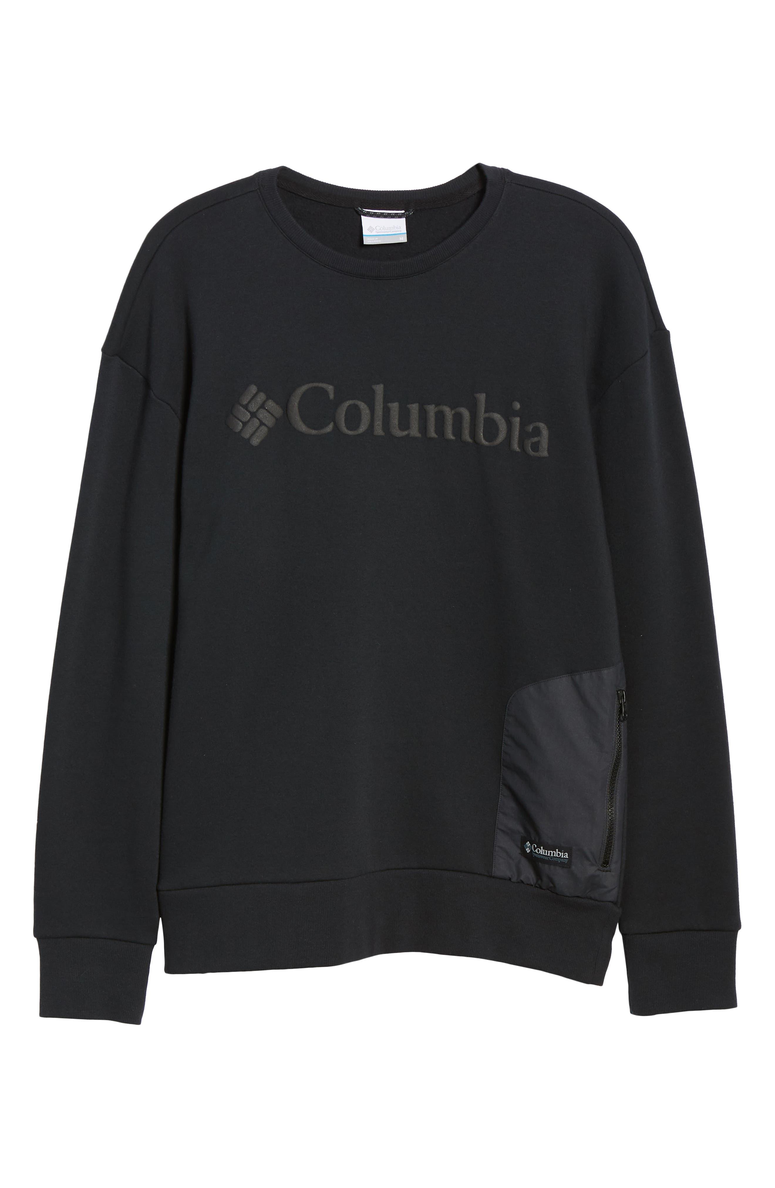Bugasweat Crewneck Sweatshirt,                             Alternate thumbnail 6, color,                             BLACK