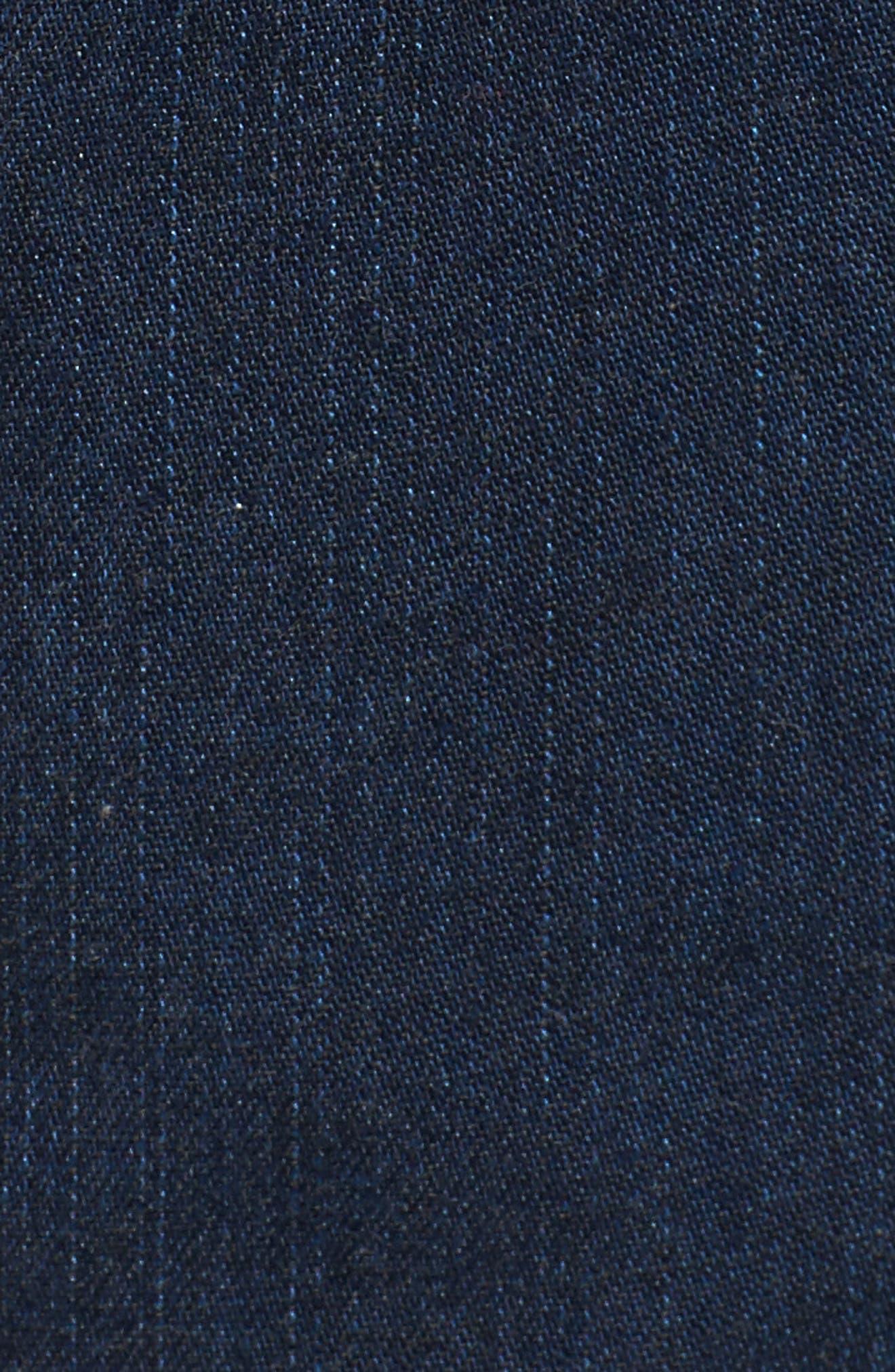 Tencel<sup>®</sup> Lyocell & Organic Cotton Walking Shorts,                             Alternate thumbnail 5, color,                             419