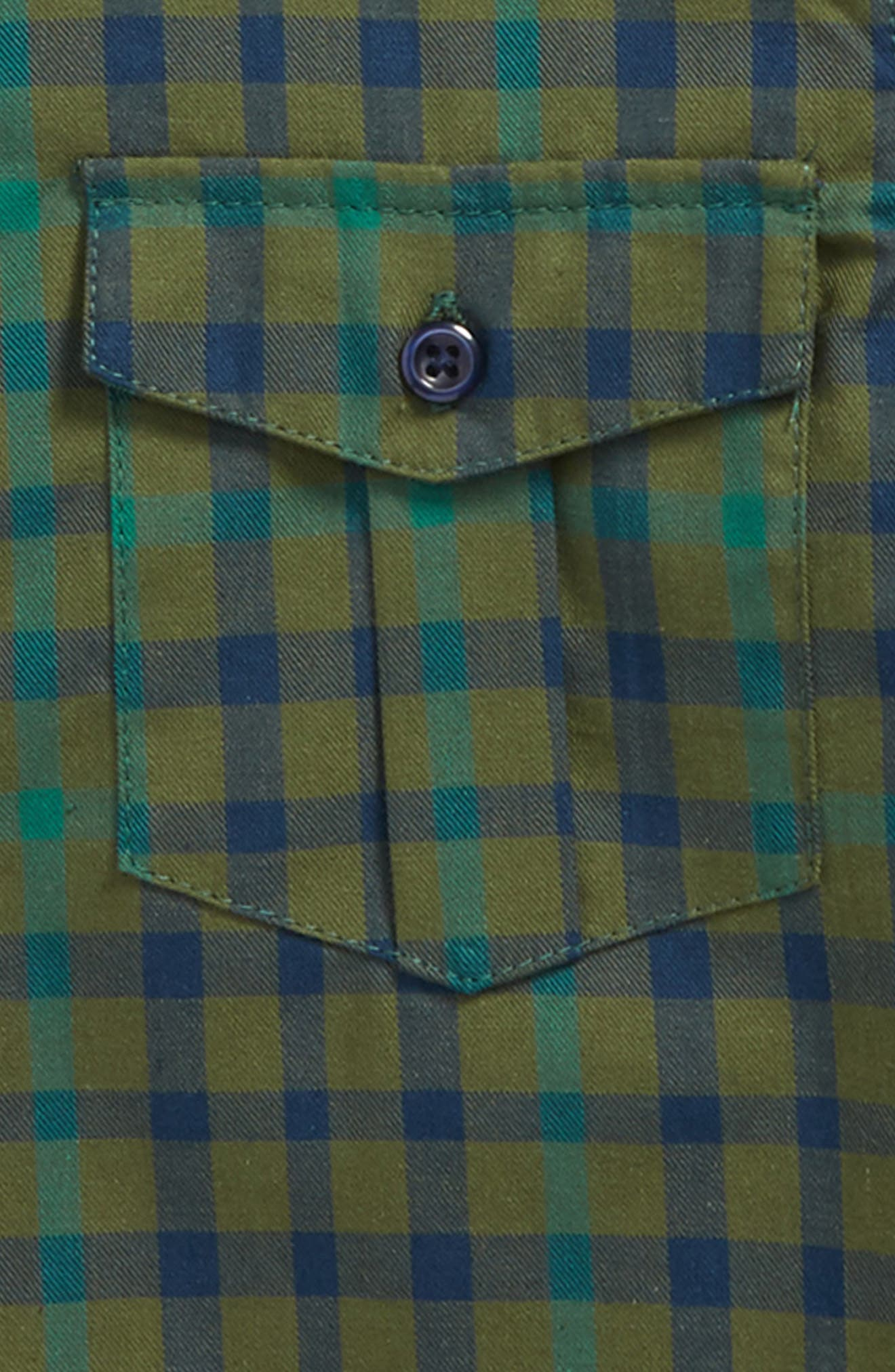 Check Flannel Shirt,                             Alternate thumbnail 2, color,                             311