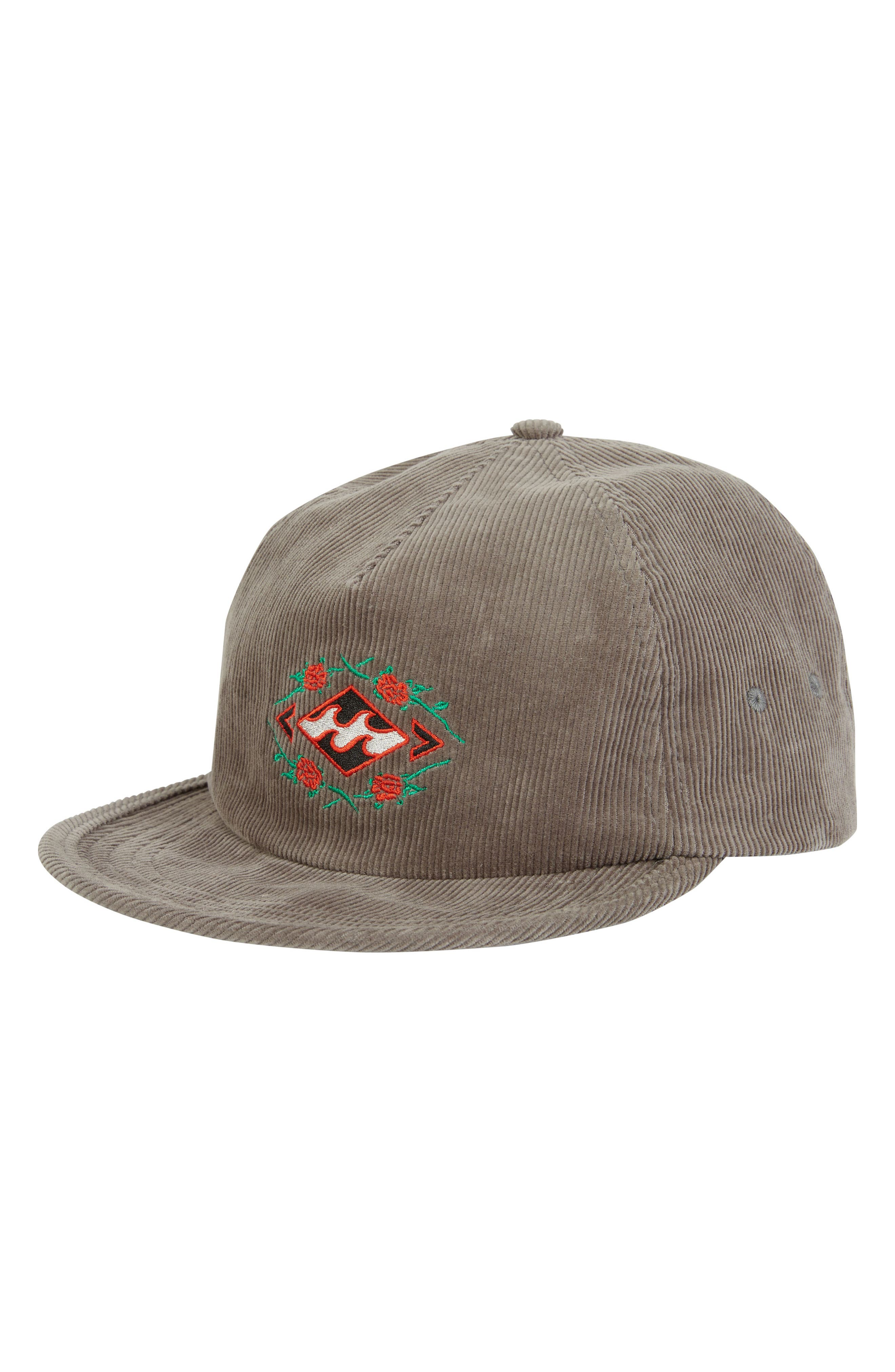 Reissue Corduroy Baseball Cap,                         Main,                         color, PEWTER