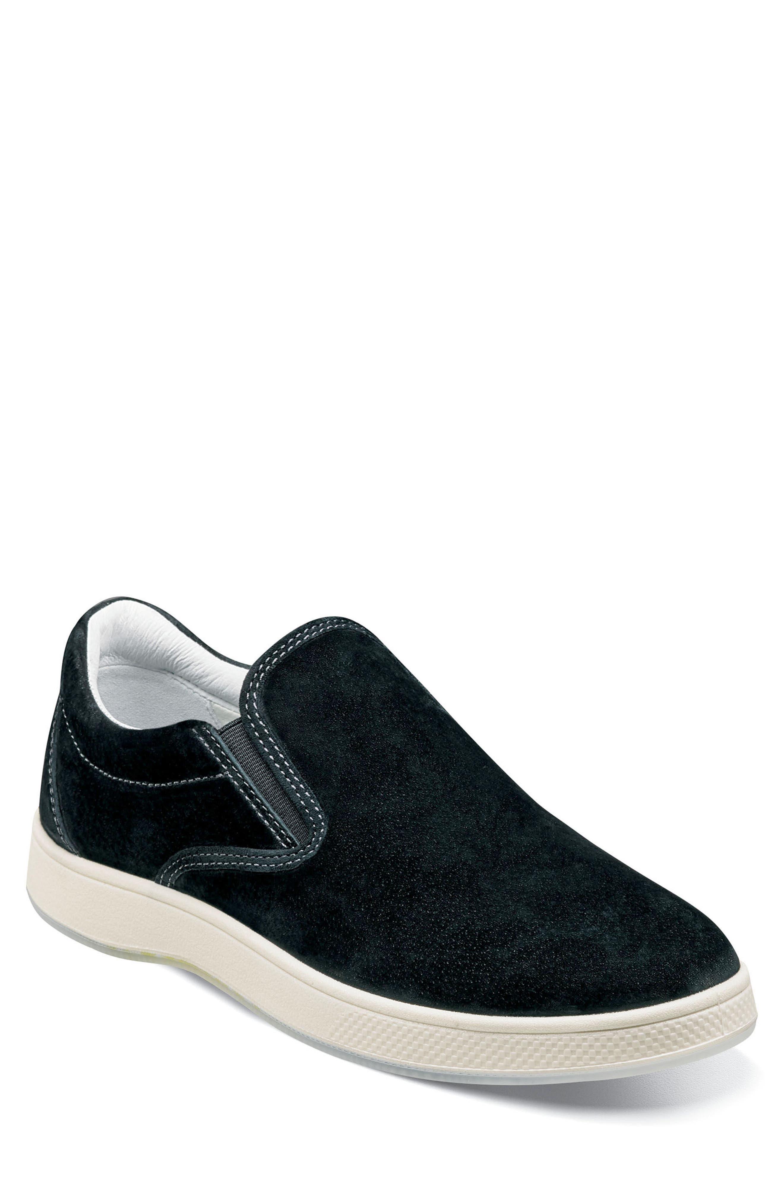 FLORSHEIM Edge Slip-On Sneaker, Main, color, 001