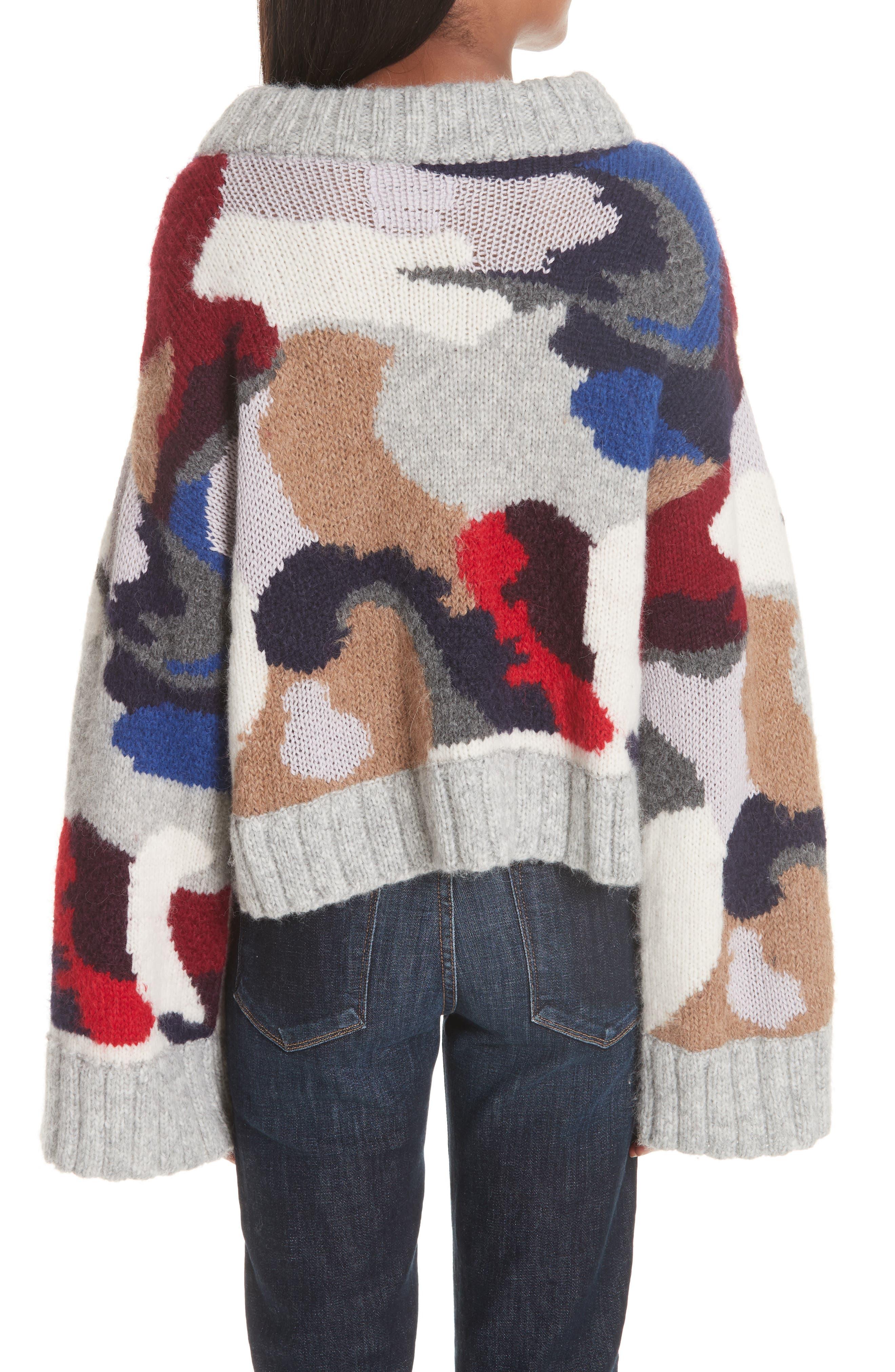 Kira Alpaca Blend Sweater,                             Alternate thumbnail 2, color,                             020