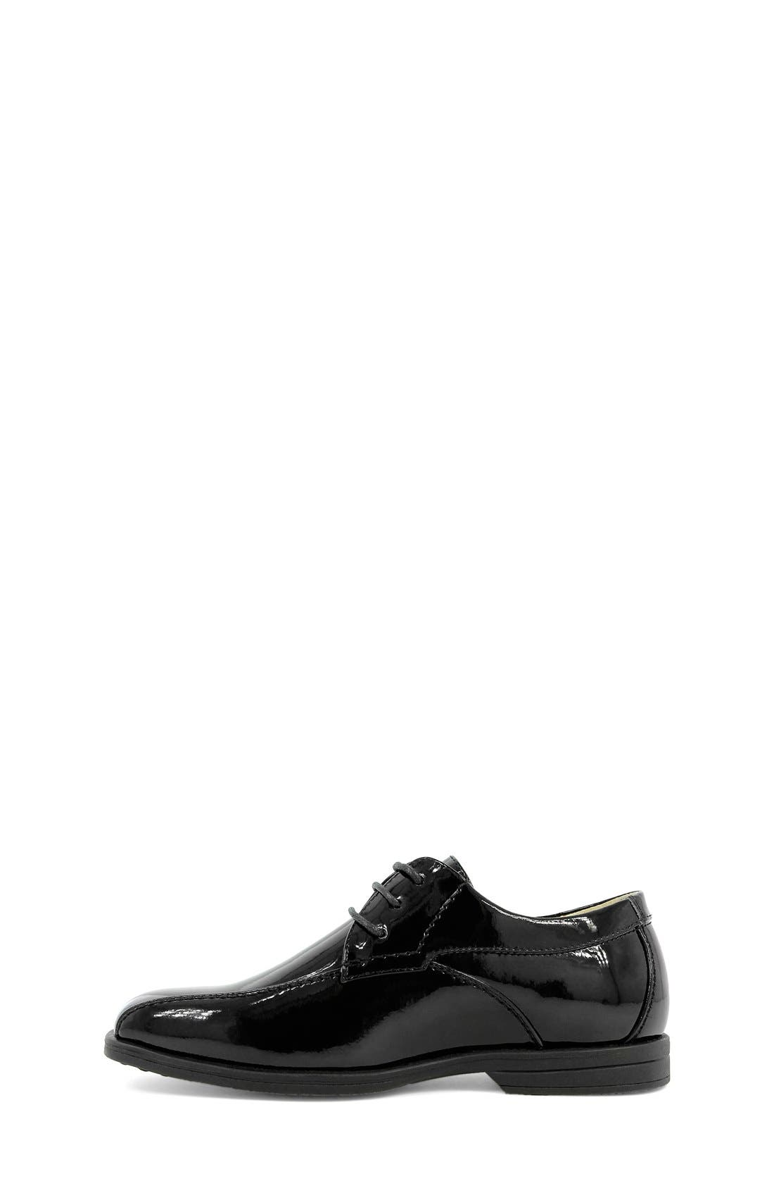 'Reveal' Oxford,                             Alternate thumbnail 3, color,                             BLACK PATENT LEATHER