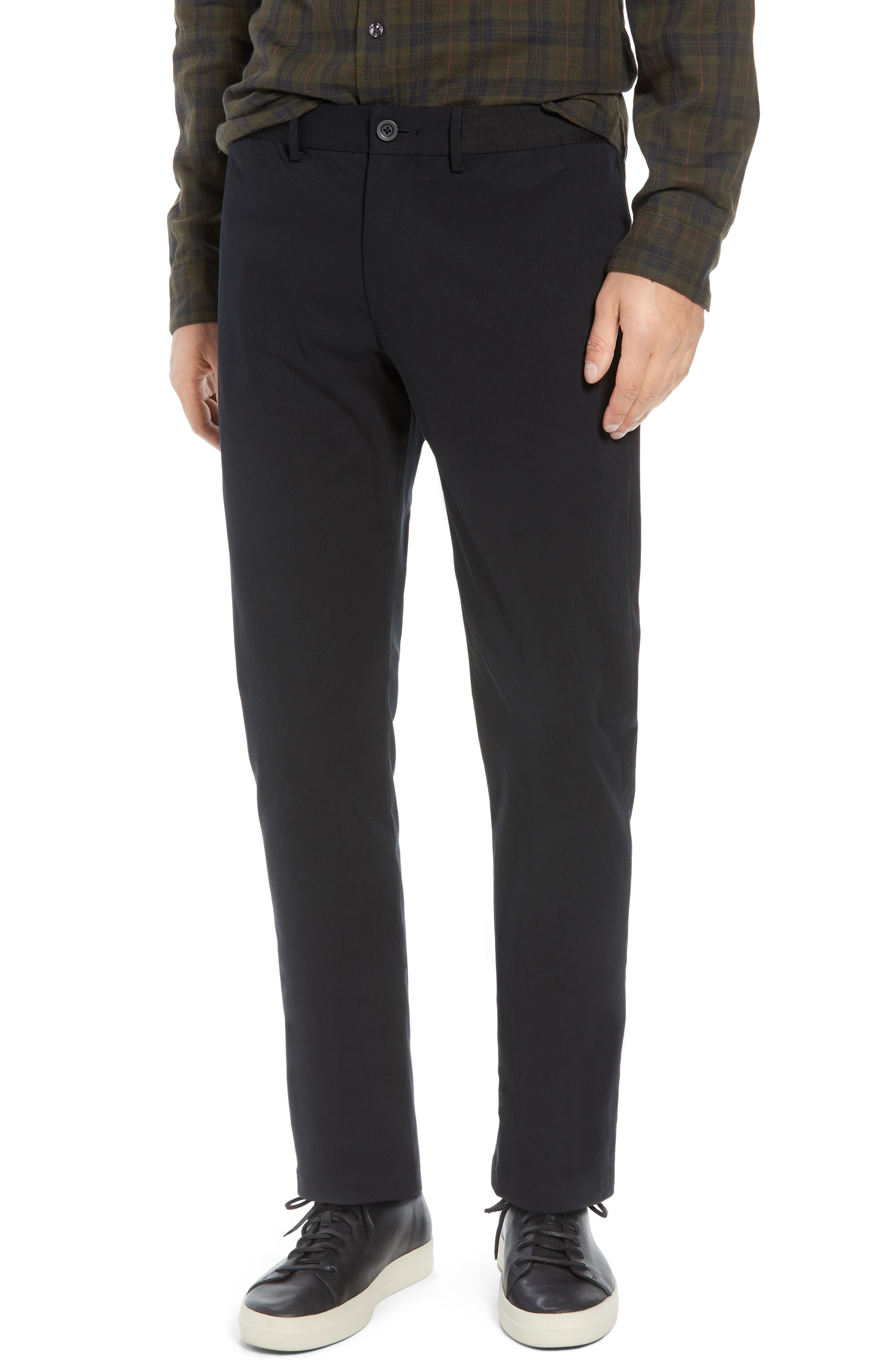 Slater Classic Fit Chinos,                             Main thumbnail 1, color,                             BLACK
