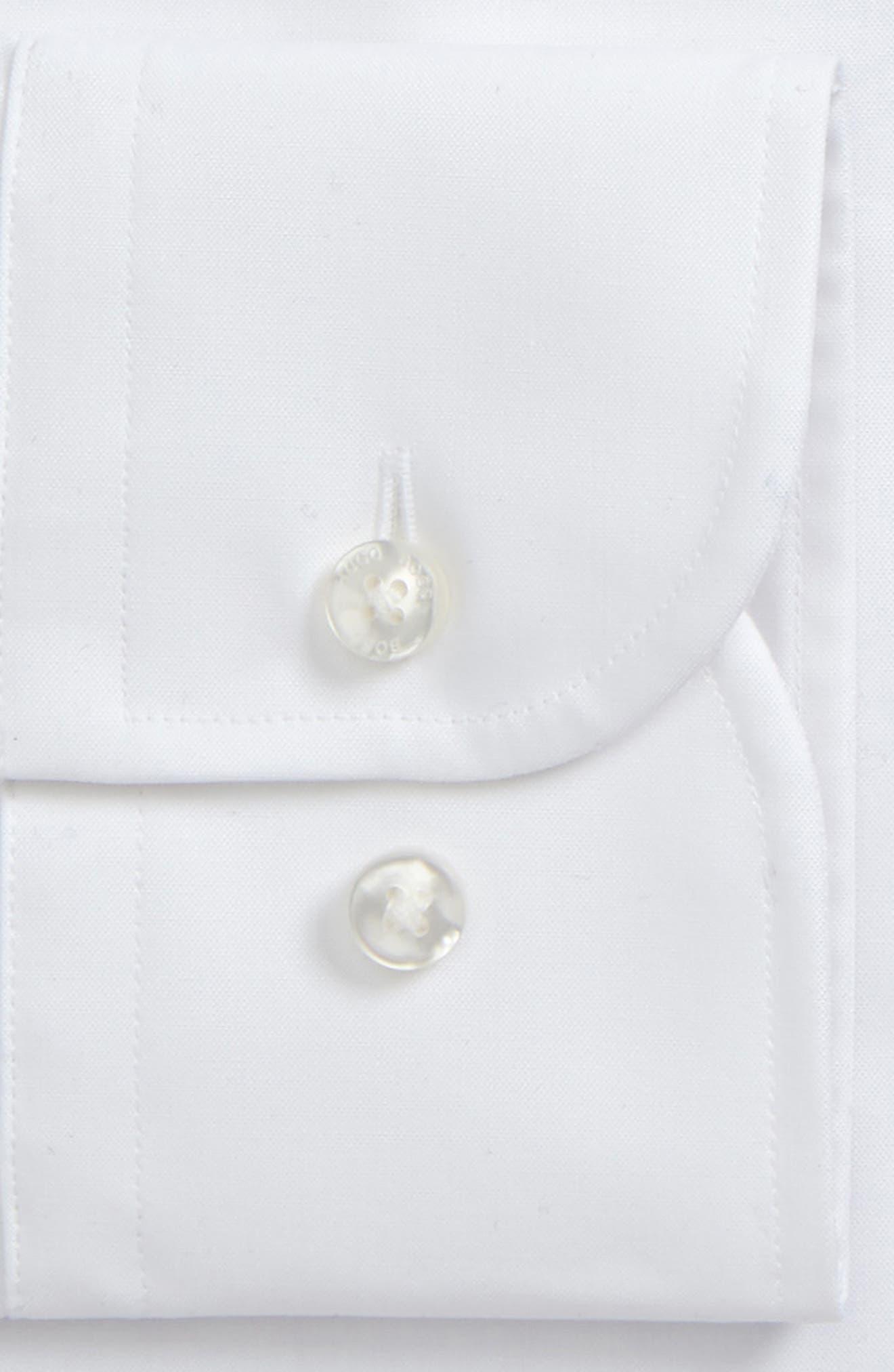 Jerris Slim Fit Dress Shirt,                             Alternate thumbnail 2, color,                             WHITE