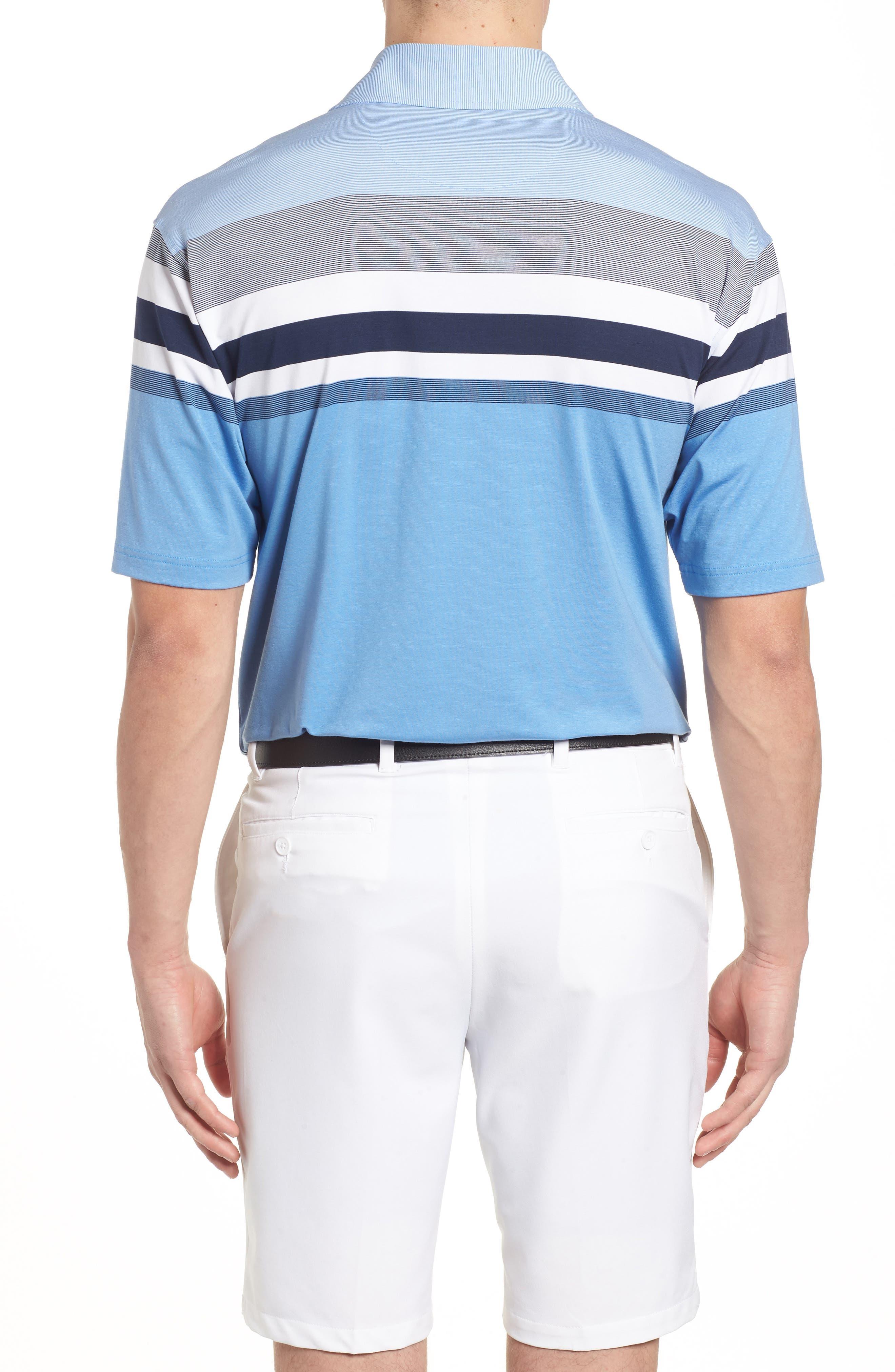 Horizon Stripe Polo,                             Alternate thumbnail 3, color,