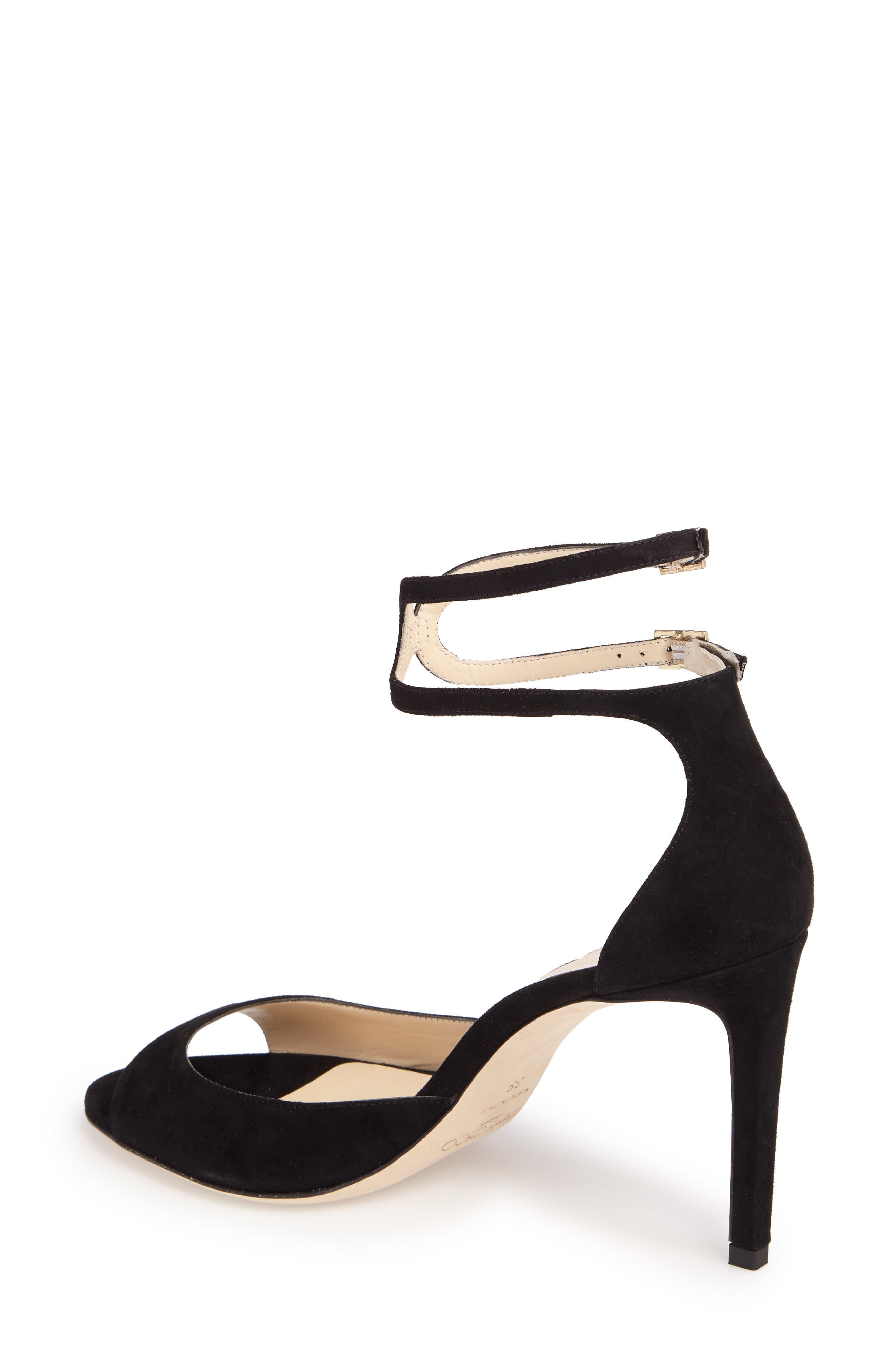 Lane Sandal,                             Alternate thumbnail 2, color,                             BLACK
