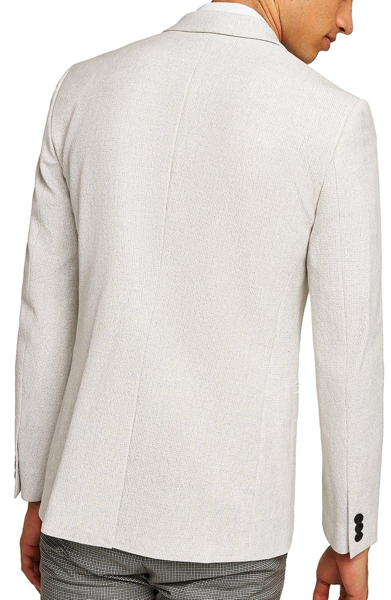 Lionis Skinny Fit Textured Sport Coat,                             Alternate thumbnail 2, color,                             LIGHT GREY