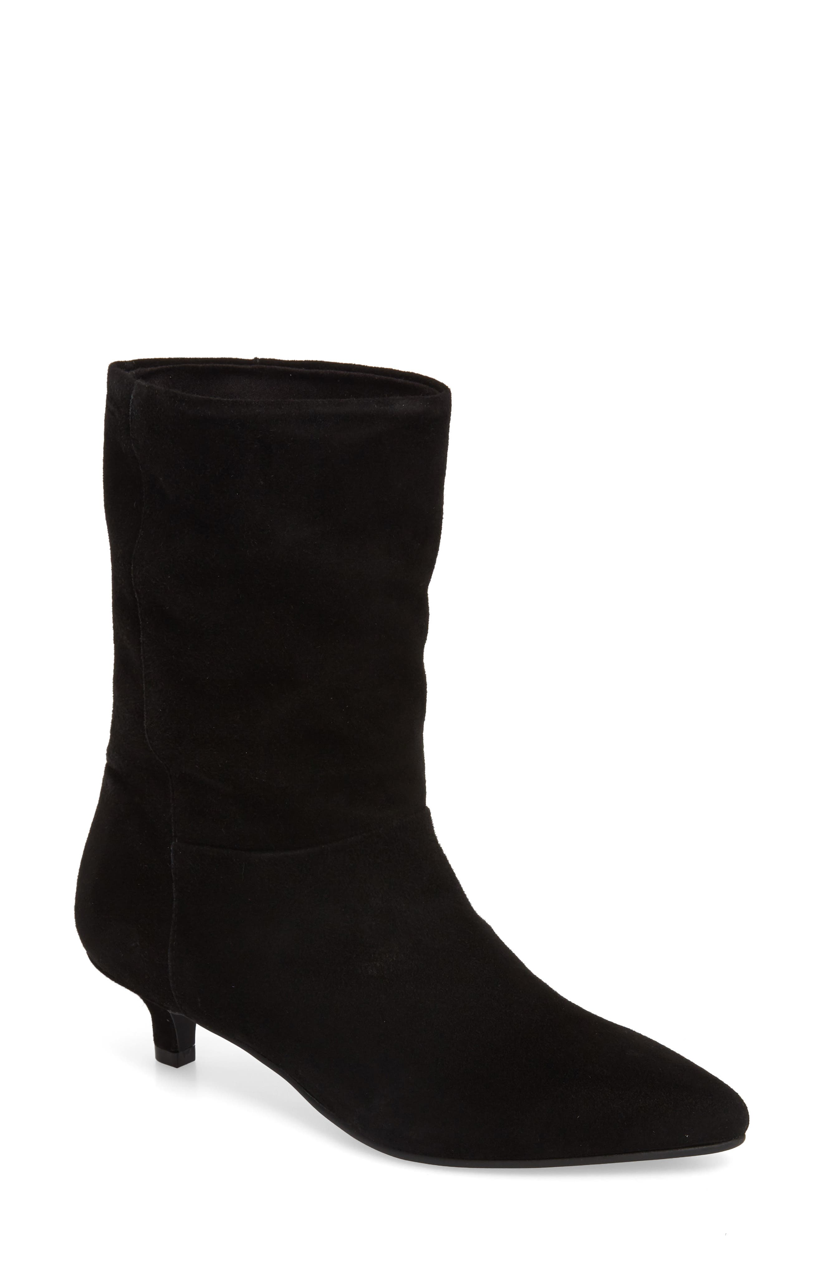 Vagabond Shoemakers Minna Slouch Bootie, Black