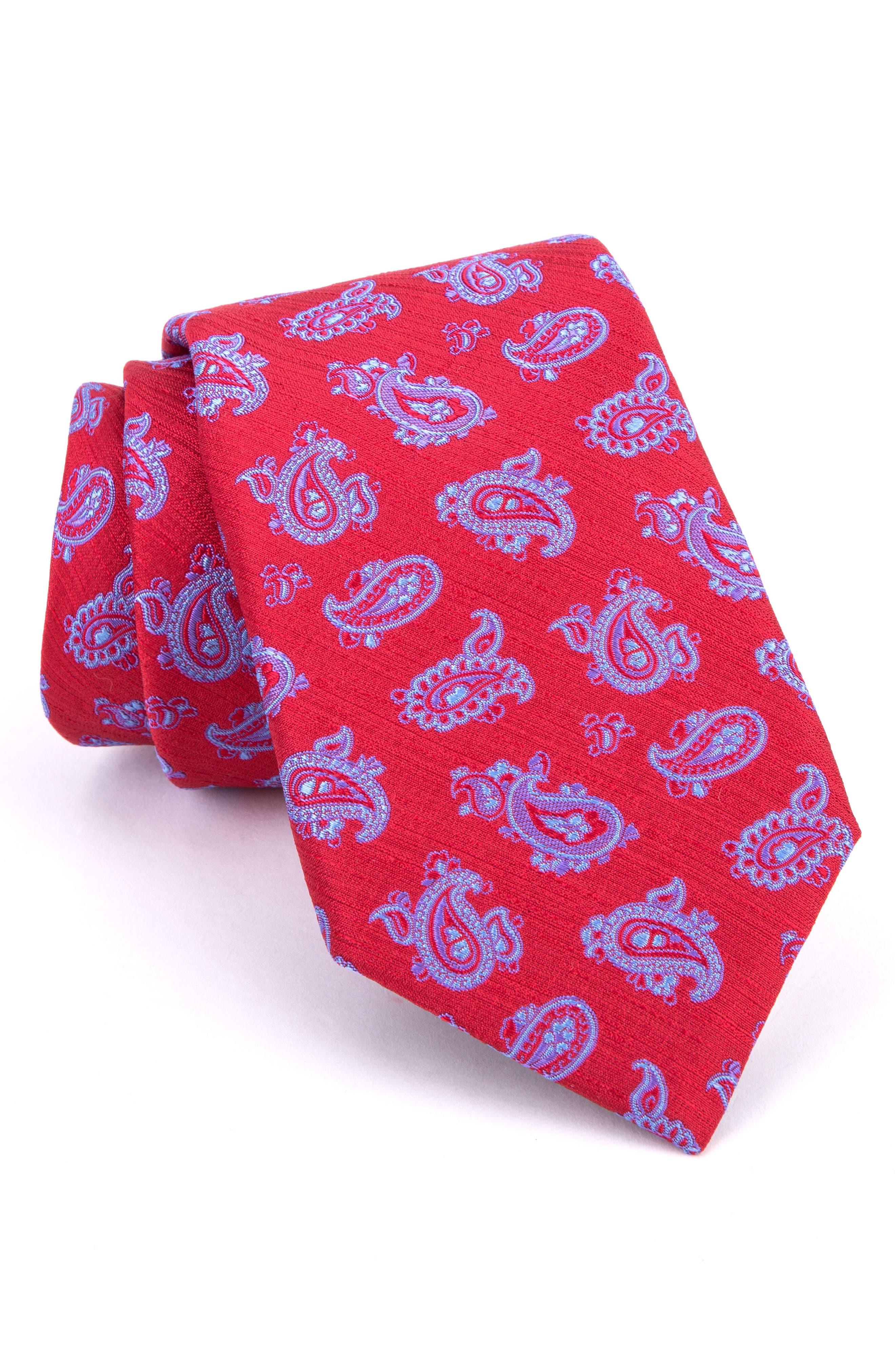 Marvelous Paisley Silk Tie,                             Main thumbnail 5, color,