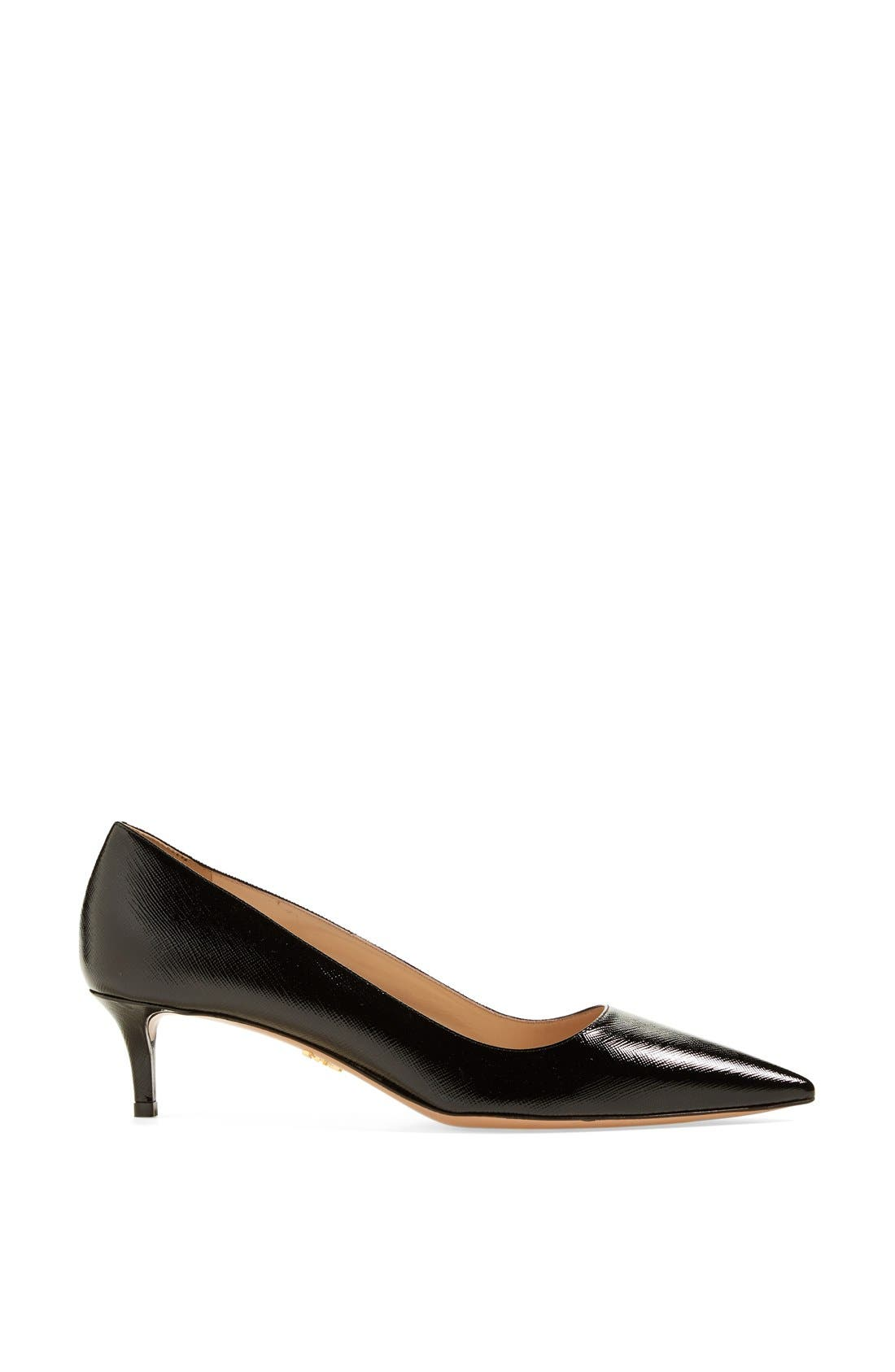 Pointy Toe Pump,                             Alternate thumbnail 4, color,                             001