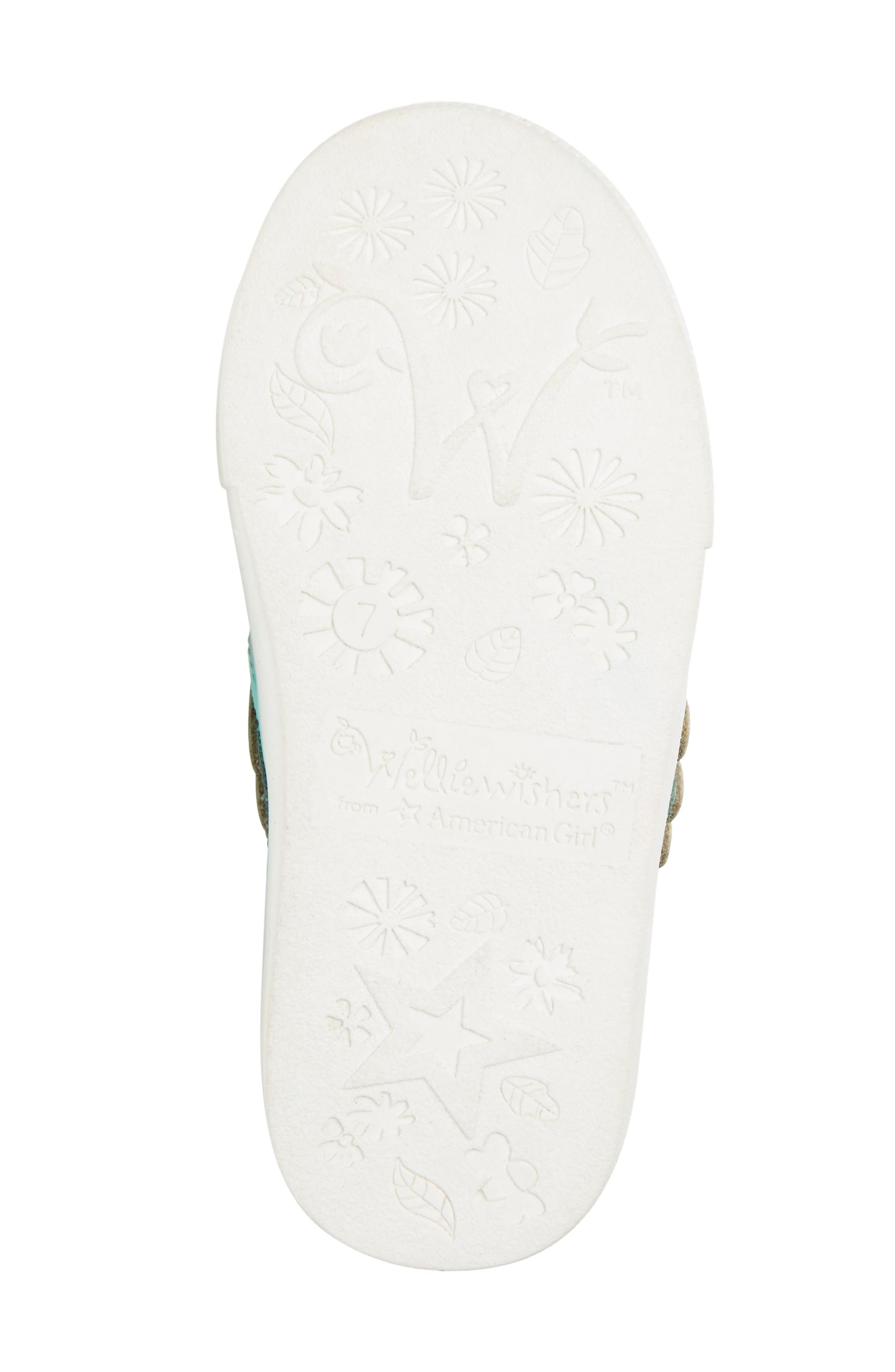 Camille Glitter Slip-On Sneaker,                             Alternate thumbnail 6, color,                             040