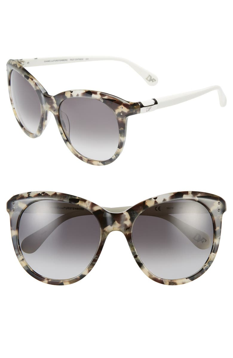 838a7a801f9 Diane von Furstenberg  Riley  55mm Retro Sunglasses