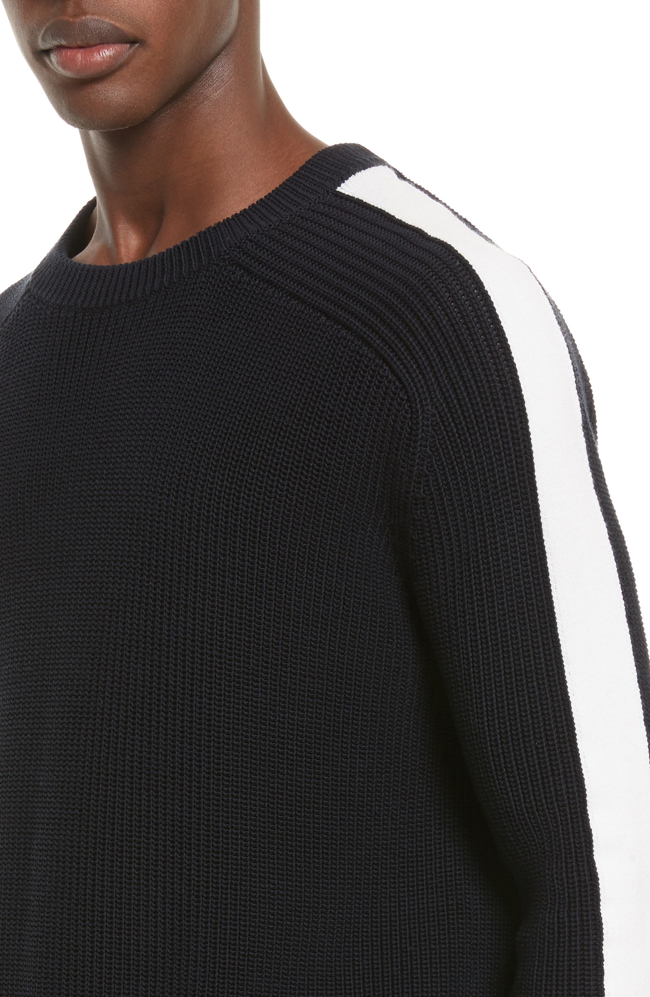 Ribbed Sweater,                             Alternate thumbnail 4, color,