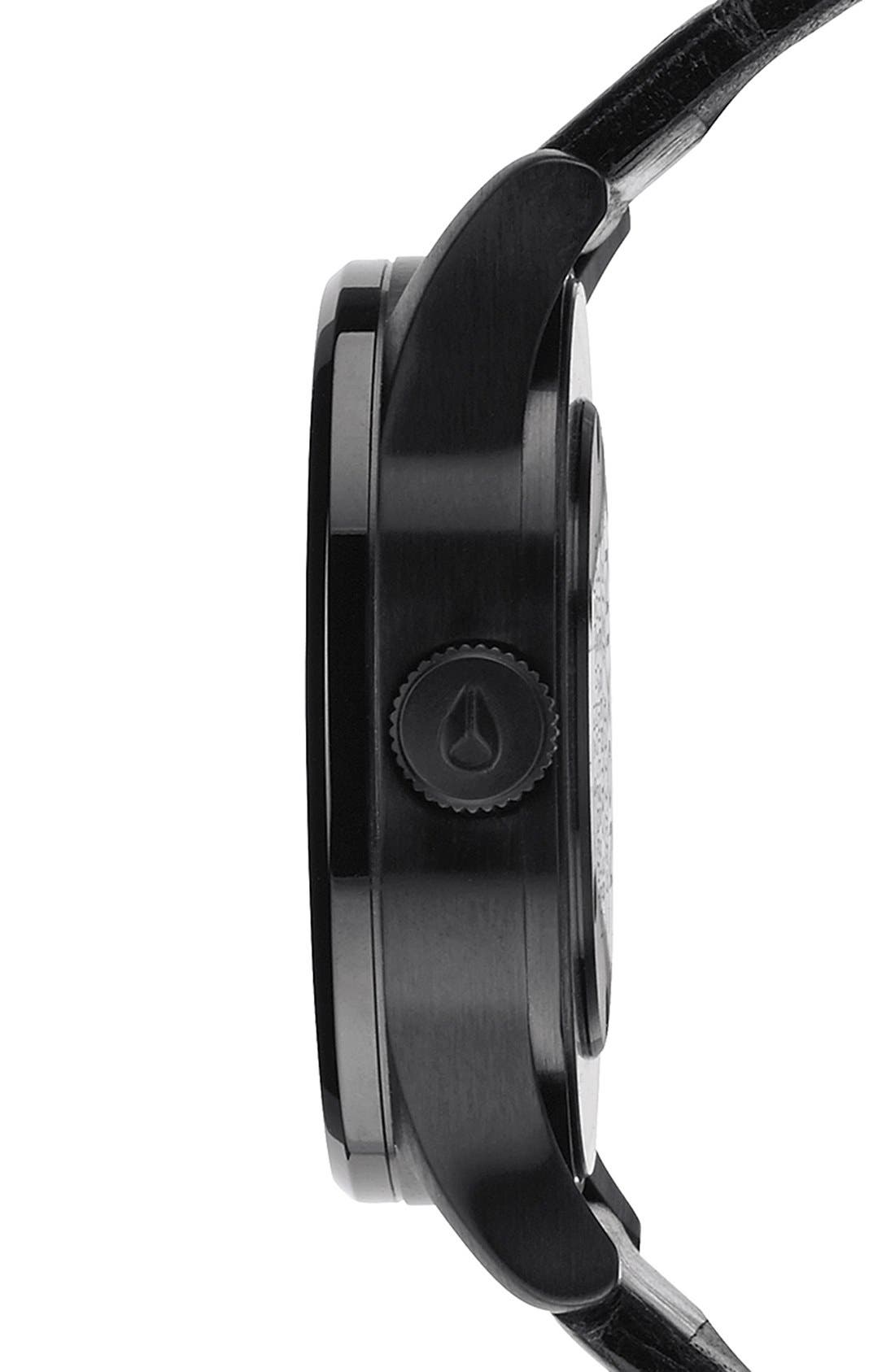 'The Sentry 38' Leather Strap Watch, 38mm,                             Alternate thumbnail 12, color,