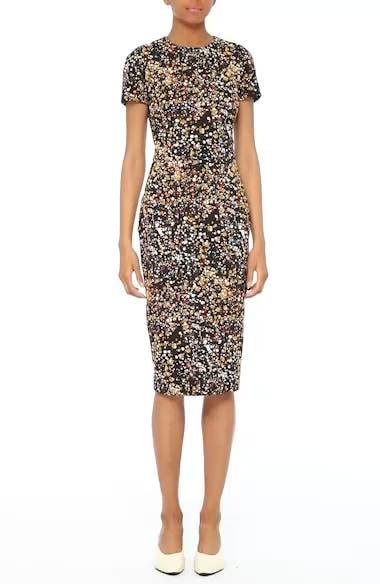 Marble Jacquard Dress, video thumbnail