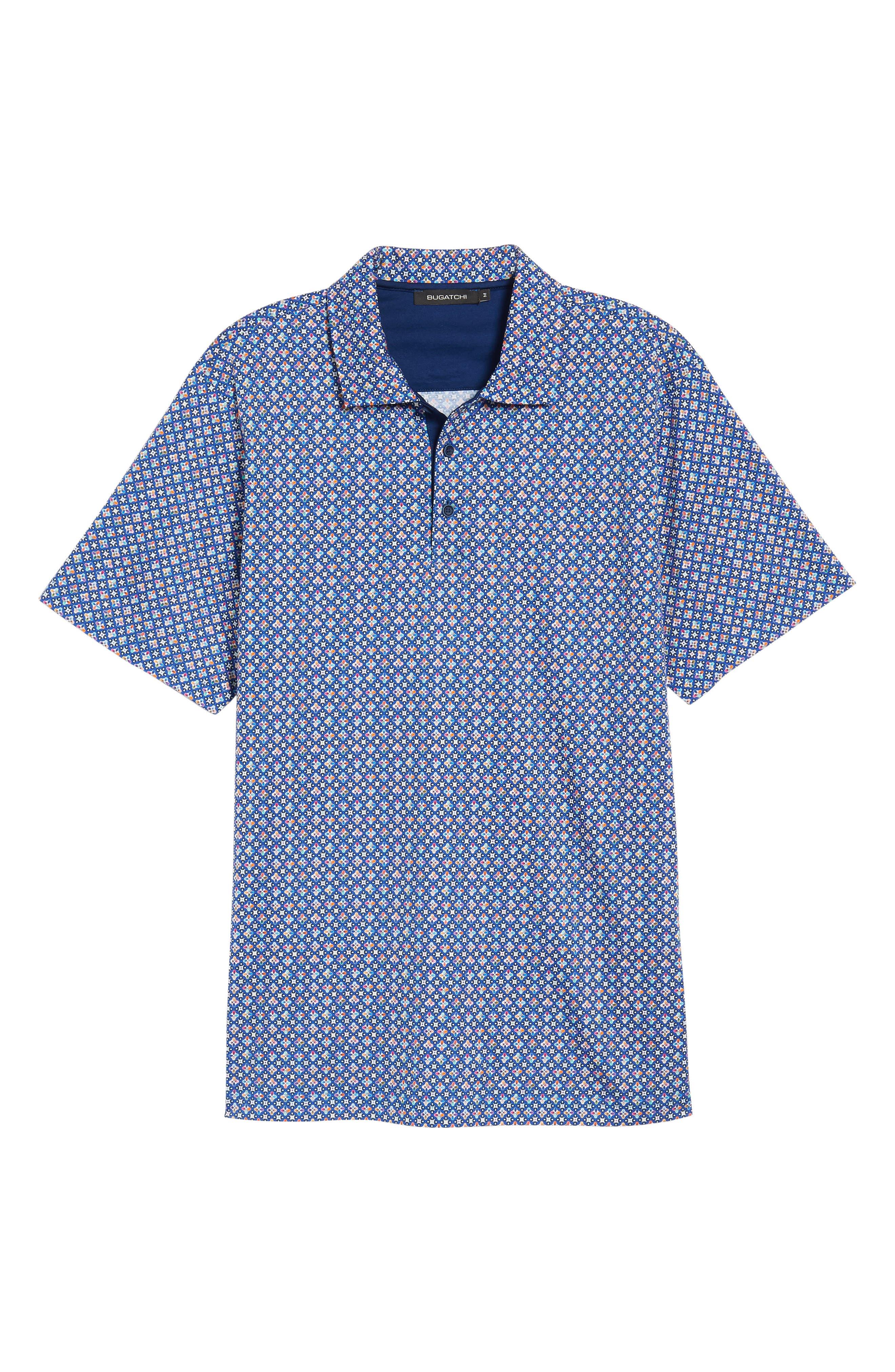 Regular Fit Knit Polo,                             Alternate thumbnail 6, color,