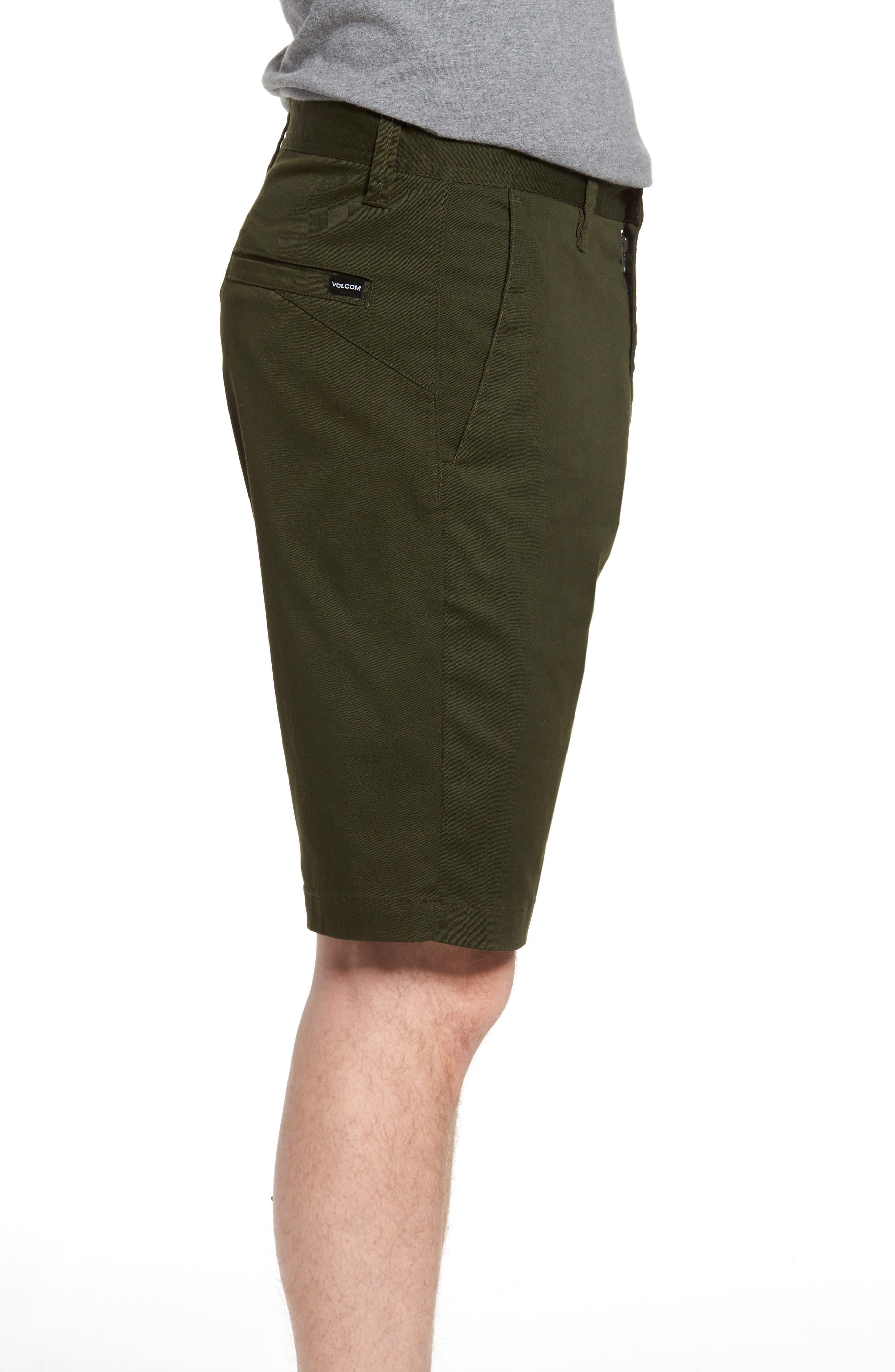 'Modern' Stretch Chino Shorts,                             Alternate thumbnail 23, color,