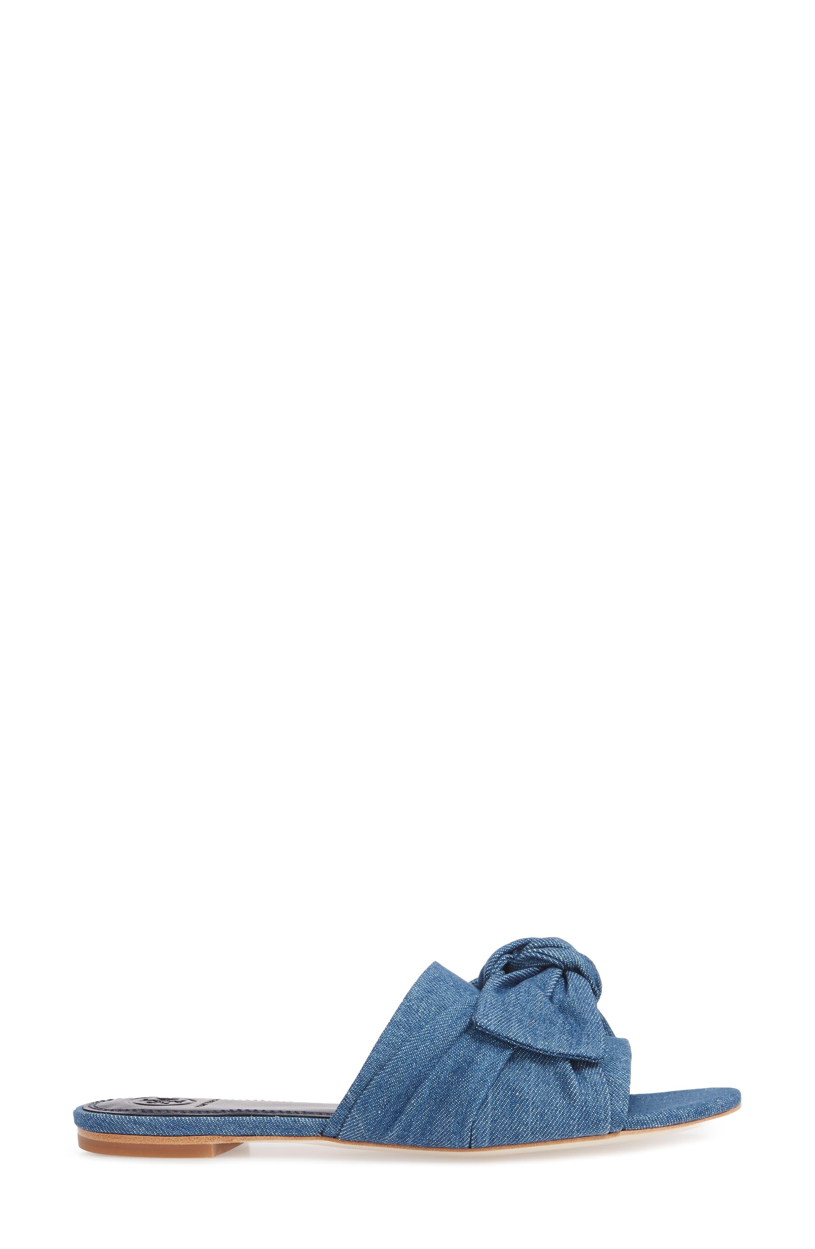 Annabelle Bow Slide Sandal,                             Alternate thumbnail 8, color,