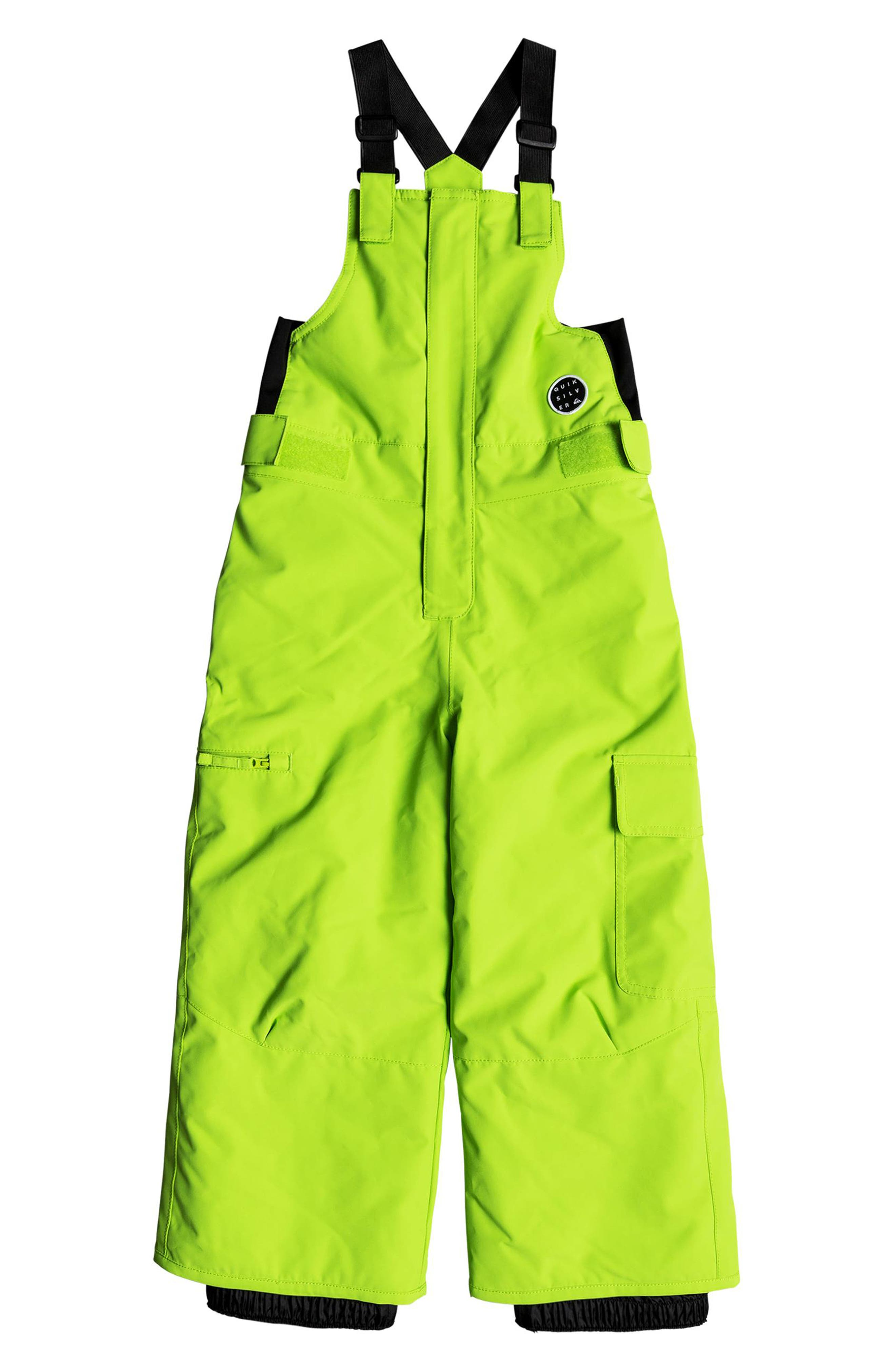 Toddler Boys Quiksilver Boogie Snow Pants Size 3T  Green