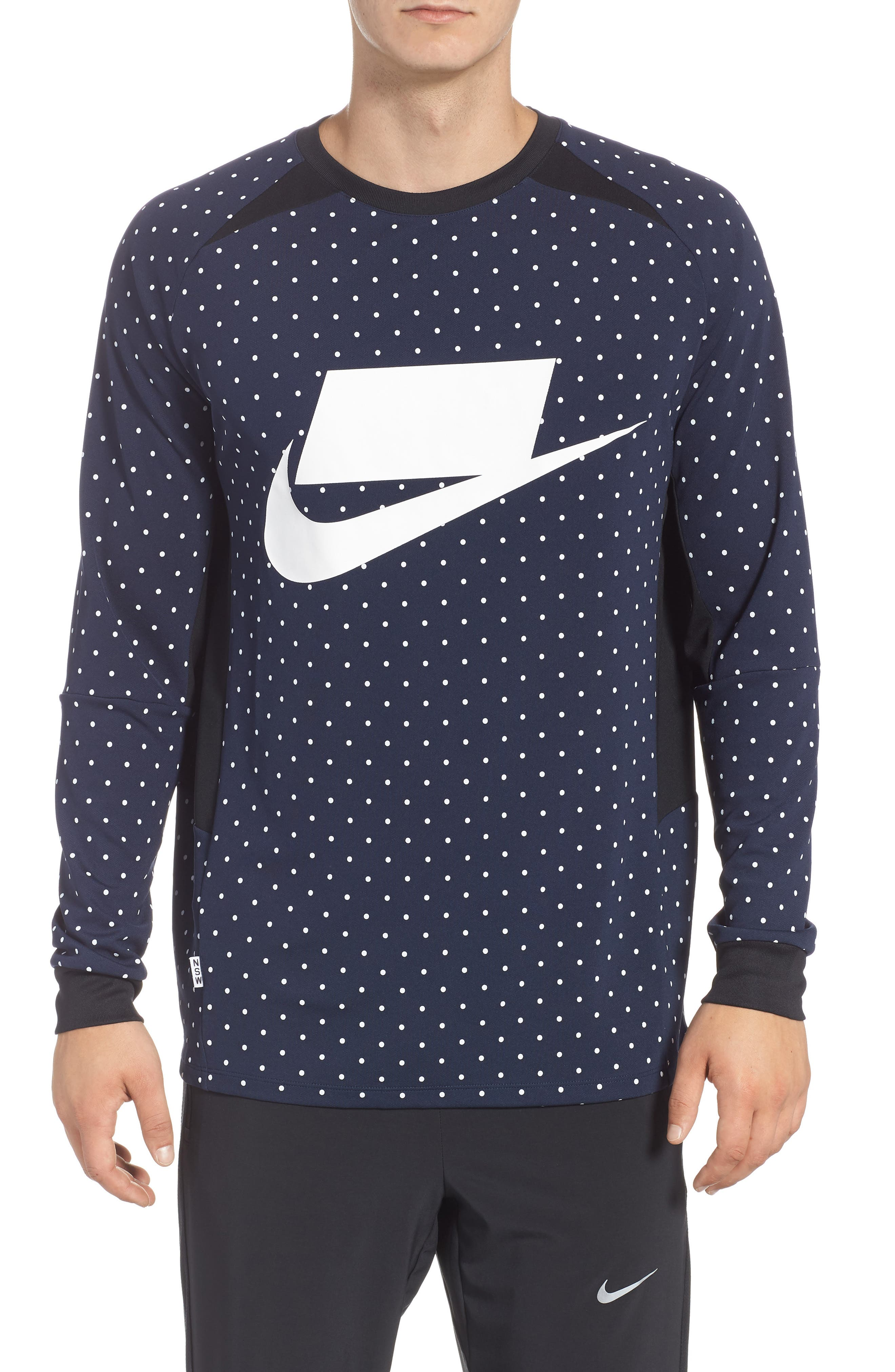 NSW Long Sleeve Shirt,                             Main thumbnail 1, color,                             451