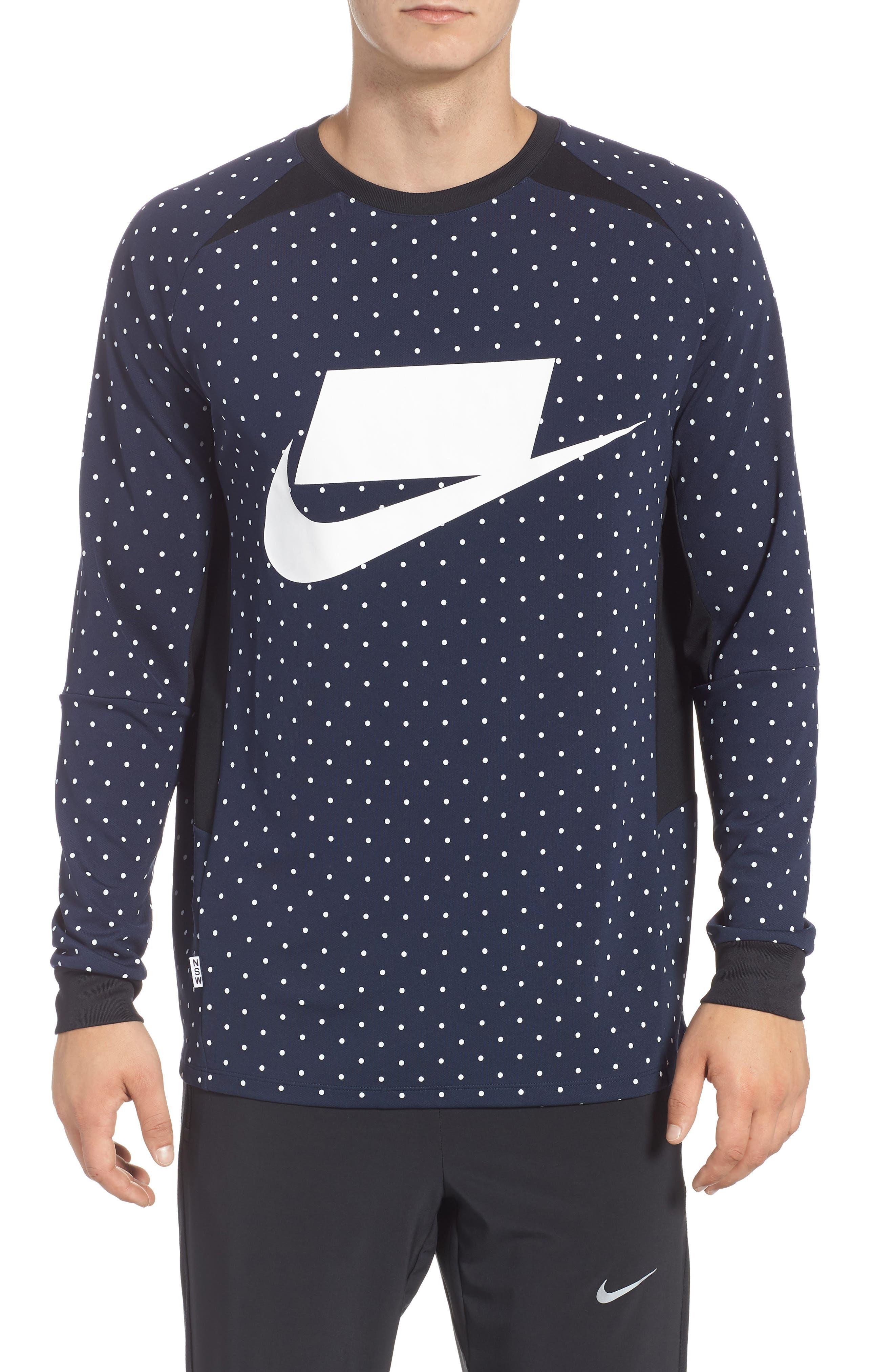 NSW Long Sleeve Shirt,                         Main,                         color, 451