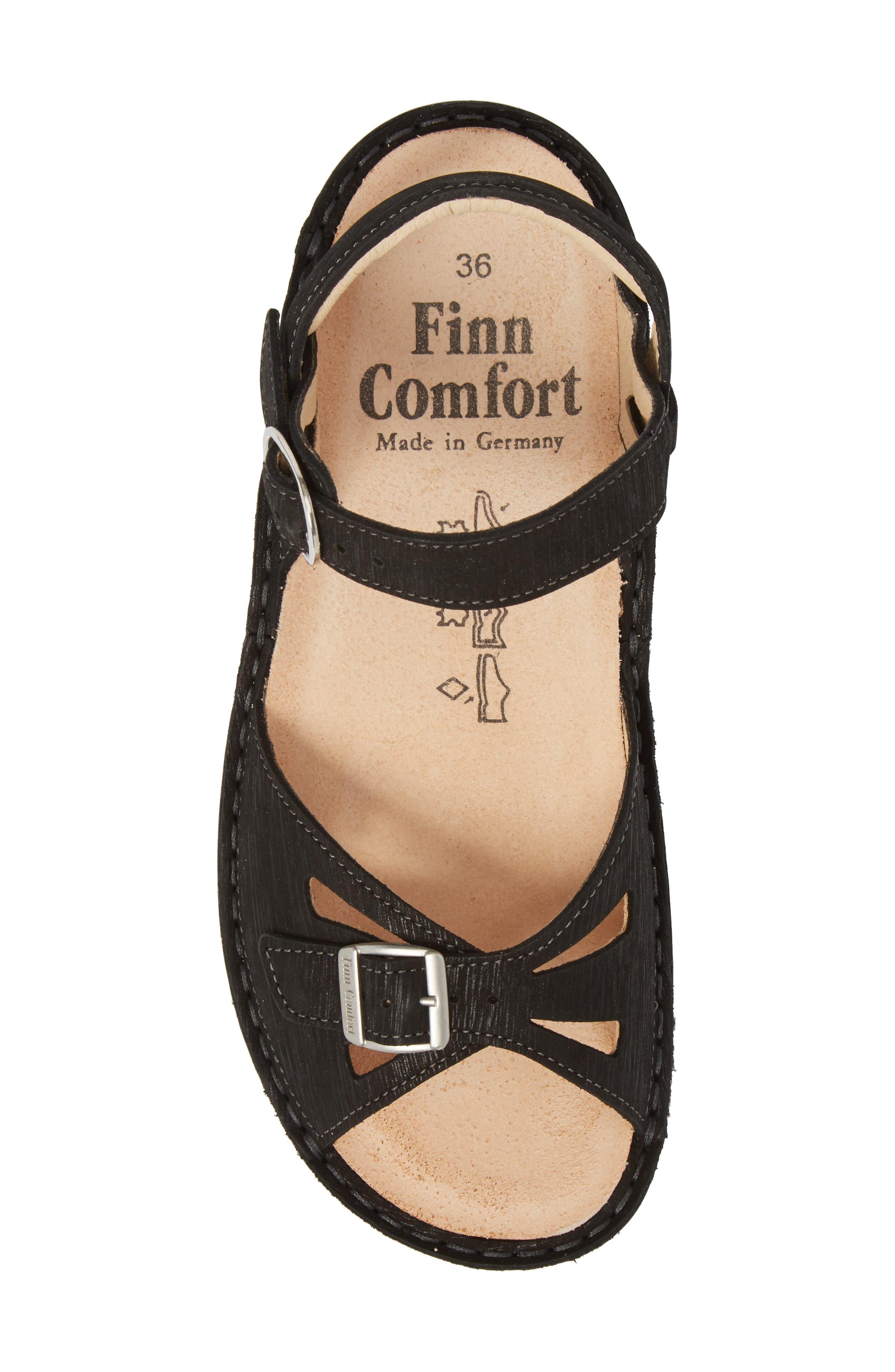 FINN COMFORT,                             Motomachi Sandal,                             Alternate thumbnail 5, color,                             001