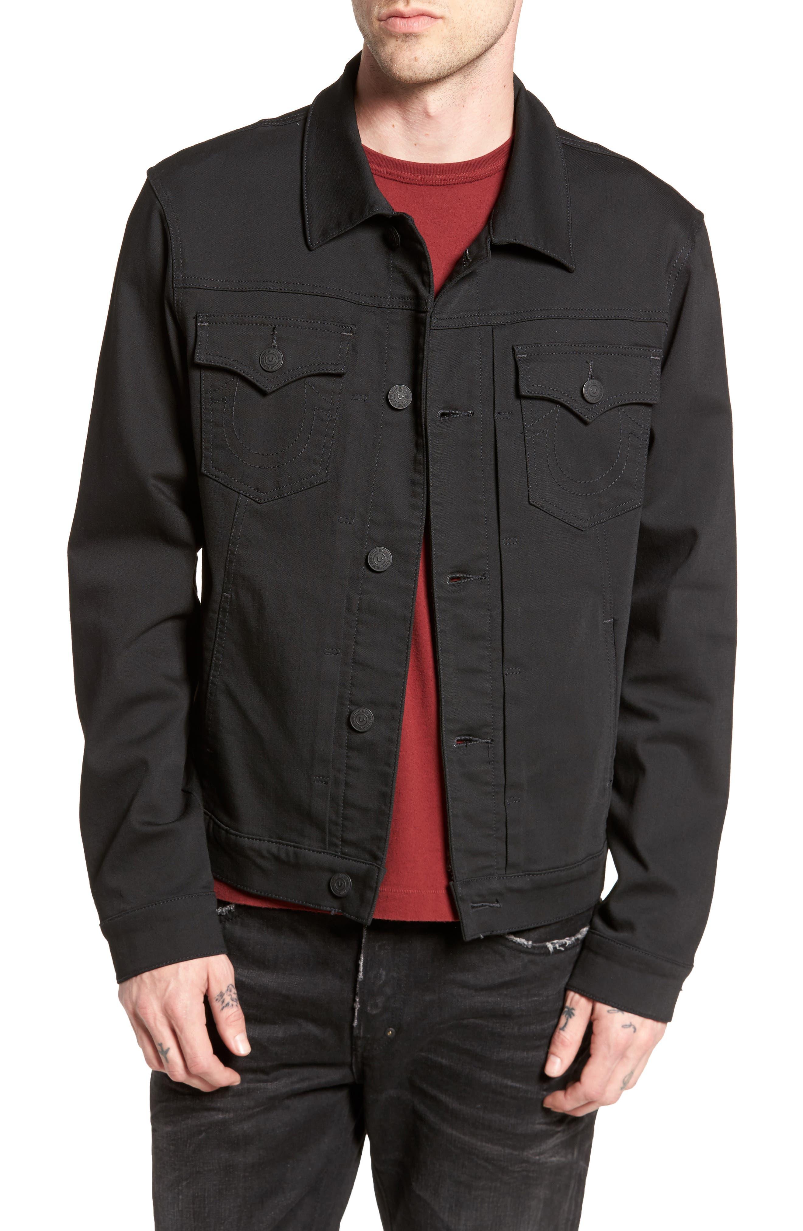 Dylan Denim Jacket,                         Main,                         color, 001