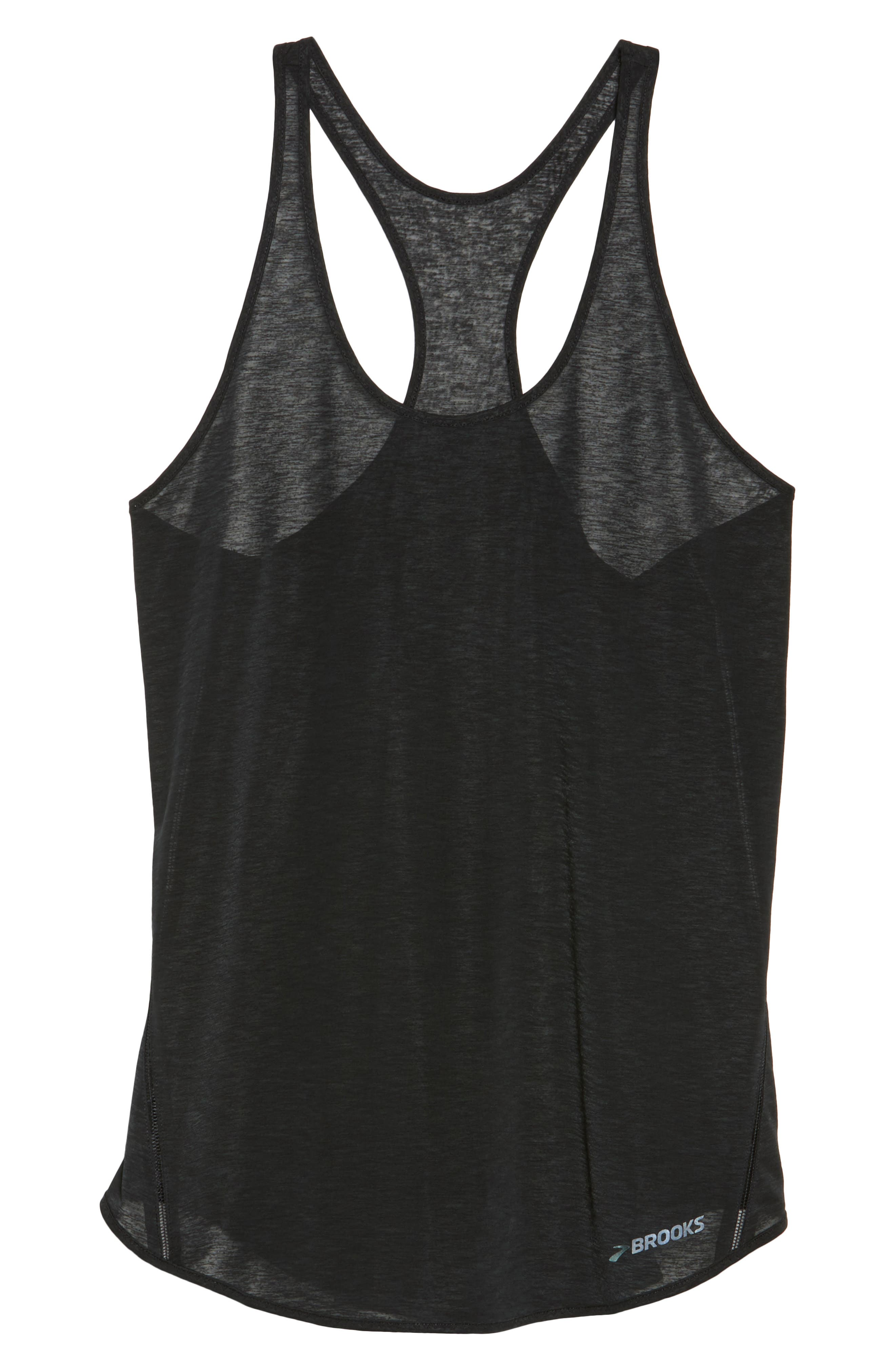 Ghost DriLayer Racerback Tank,                             Alternate thumbnail 7, color,                             001