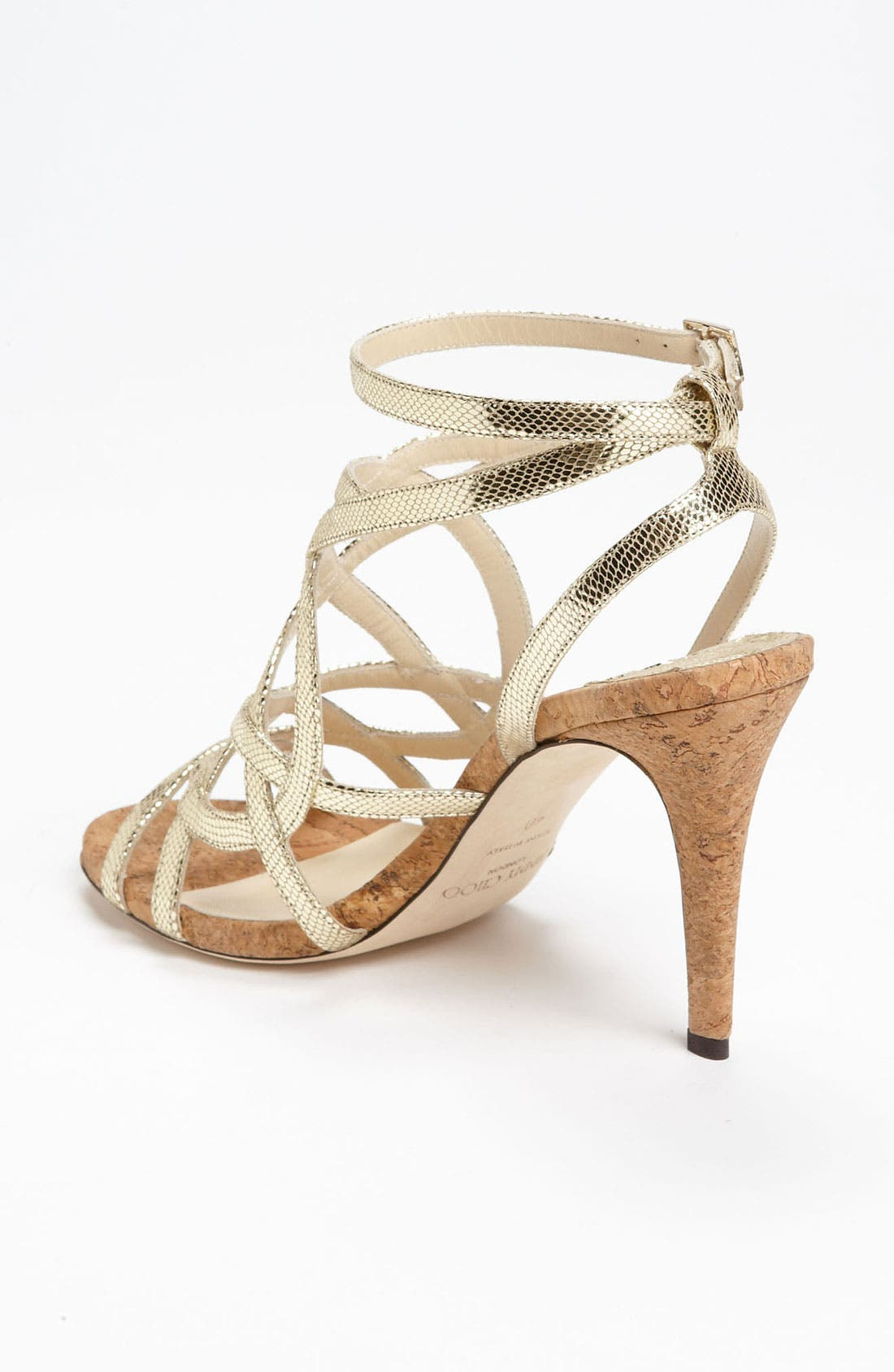 JIMMY CHOO,                             'Deeta' Sandal,                             Alternate thumbnail 4, color,                             710
