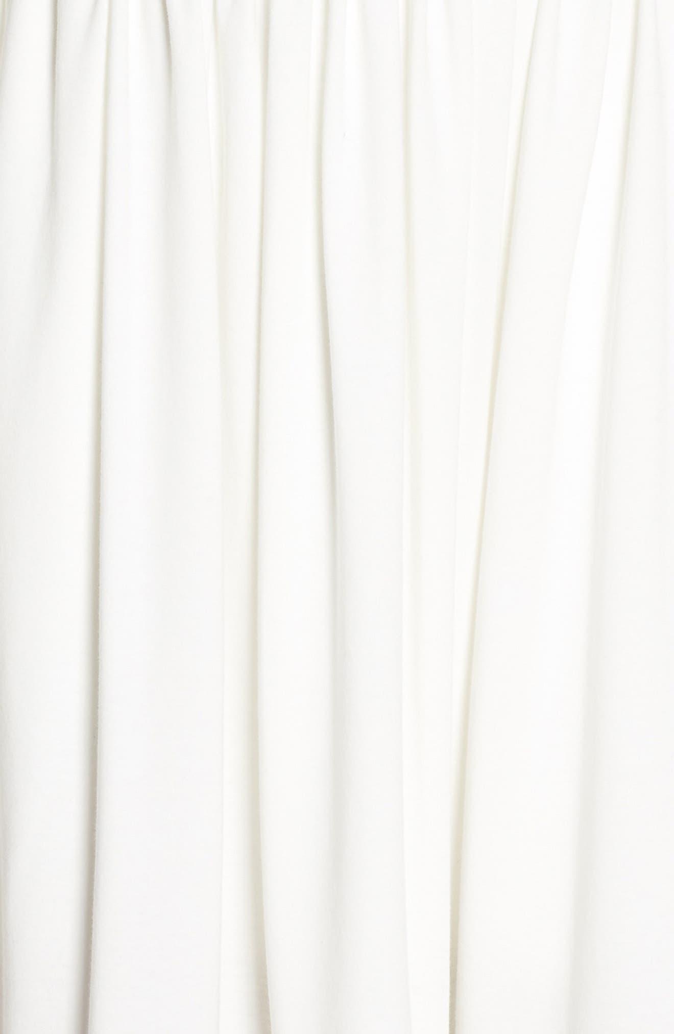 Salerno Lace Trim Jersey Dress,                             Alternate thumbnail 6, color,                             106