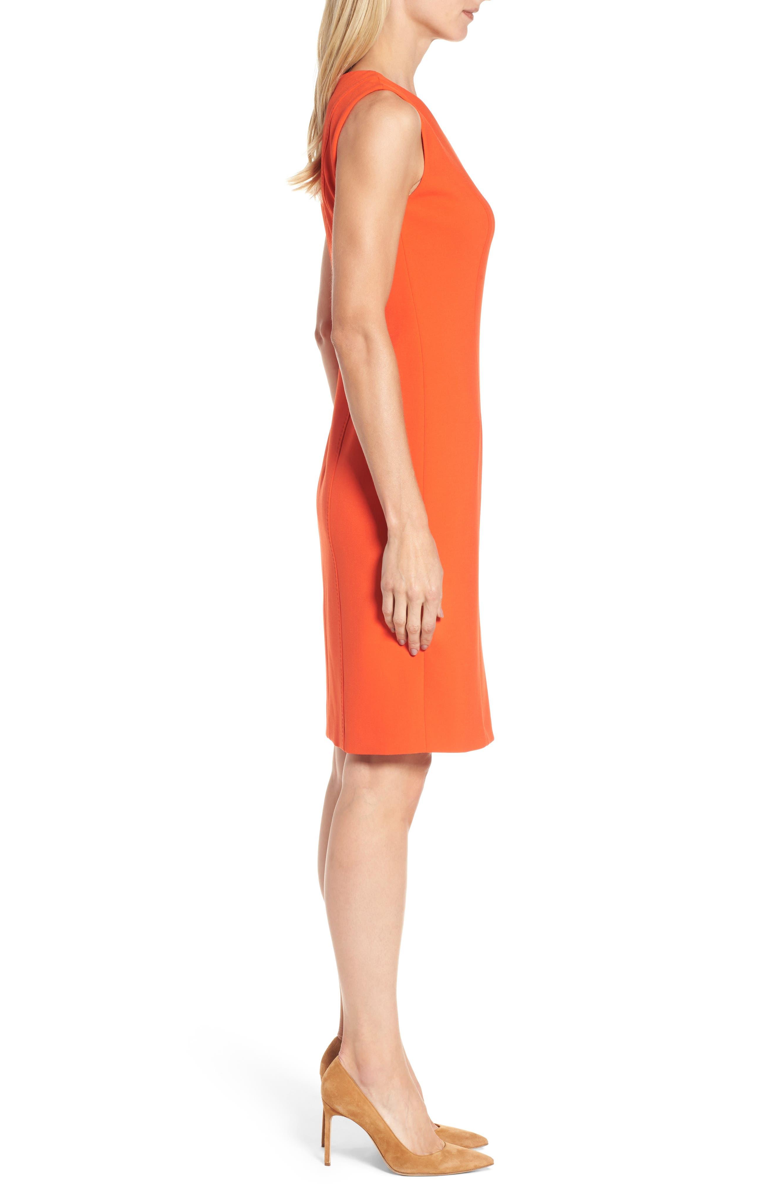 Delafea Sheath Dress,                             Alternate thumbnail 3, color,                             625