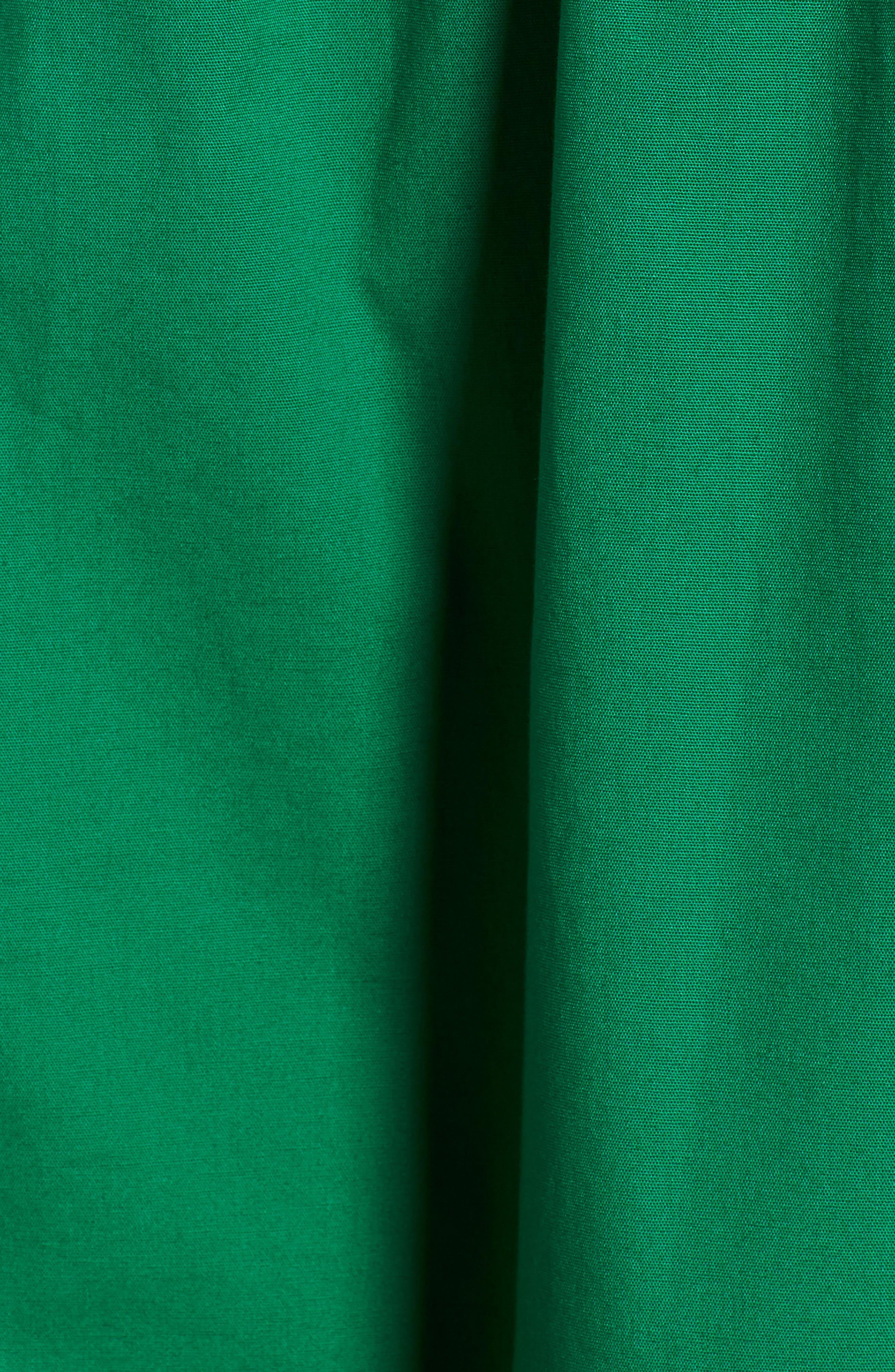 Pleat Collar Shirtdress,                             Alternate thumbnail 5, color,                             310