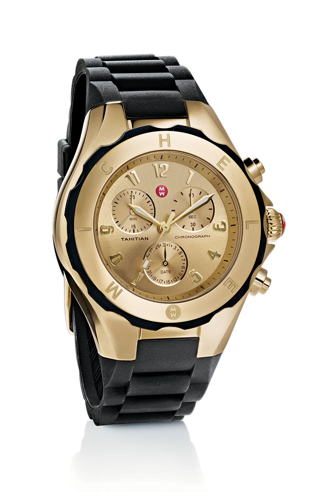 'Tahitian Jelly Bean' Gold Plated Watch, 40mm,                             Alternate thumbnail 41, color,