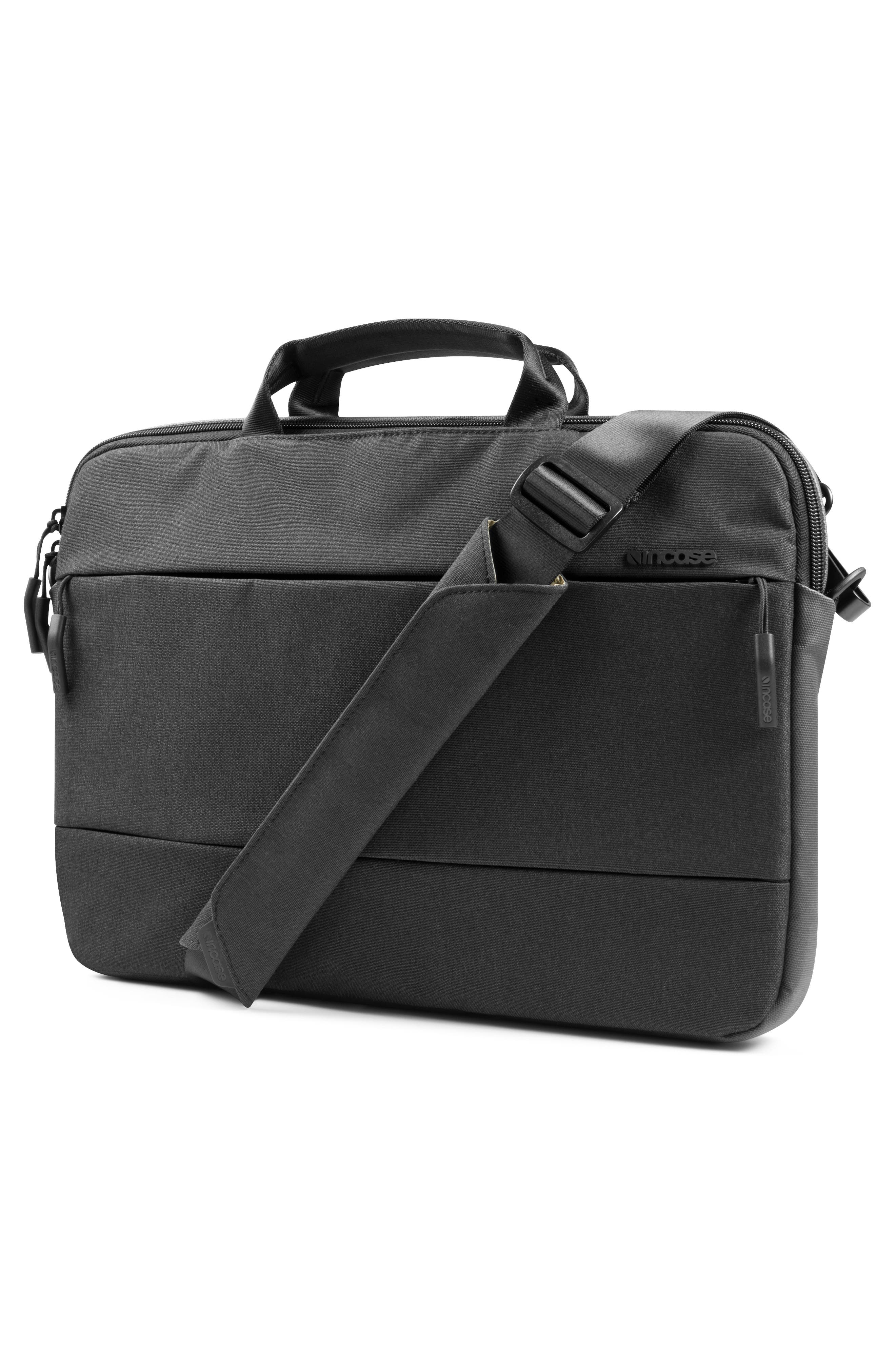 City Collection 15-Inch Briefcase,                             Alternate thumbnail 6, color,                             BLACK