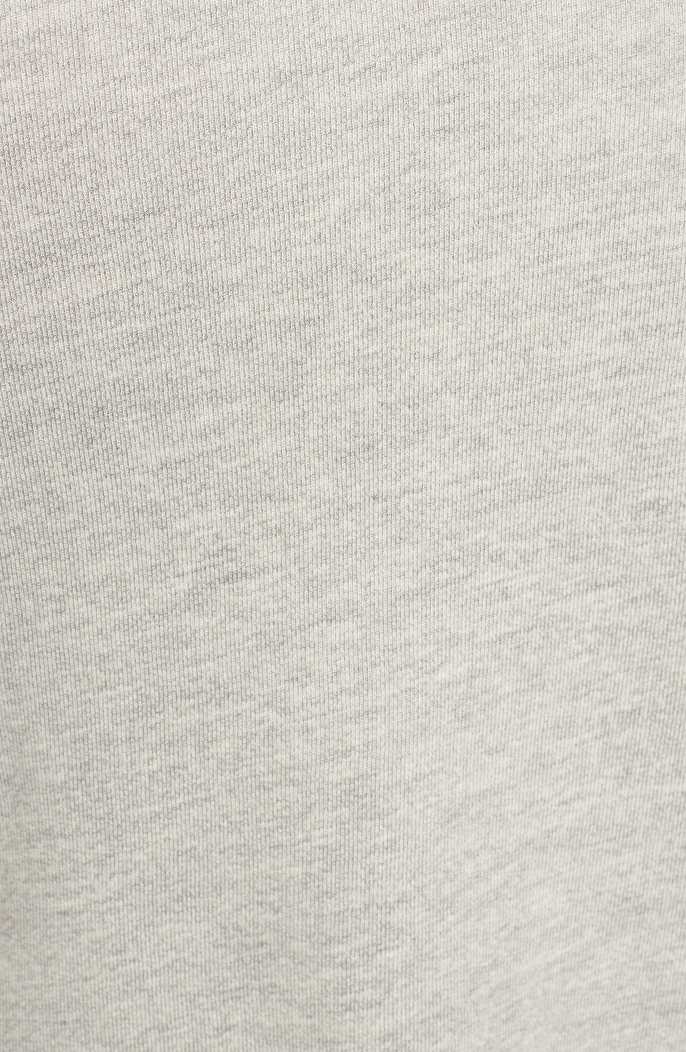 Heart Side Zip Sweatshirt,                             Alternate thumbnail 5, color,                             039