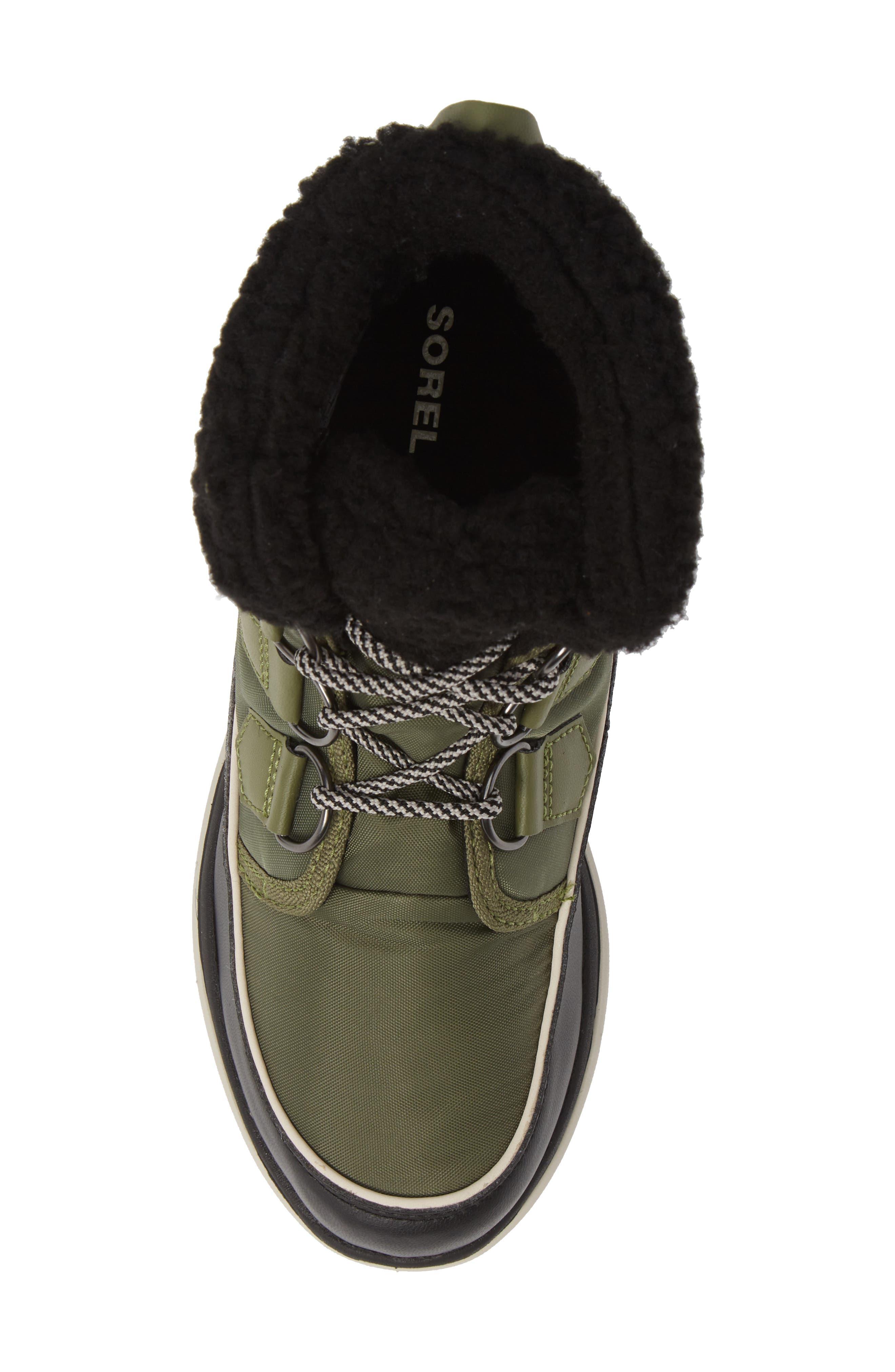 Explorer Carnival Waterproof Boot with Faux Fur Collar,                             Alternate thumbnail 5, color,                             371