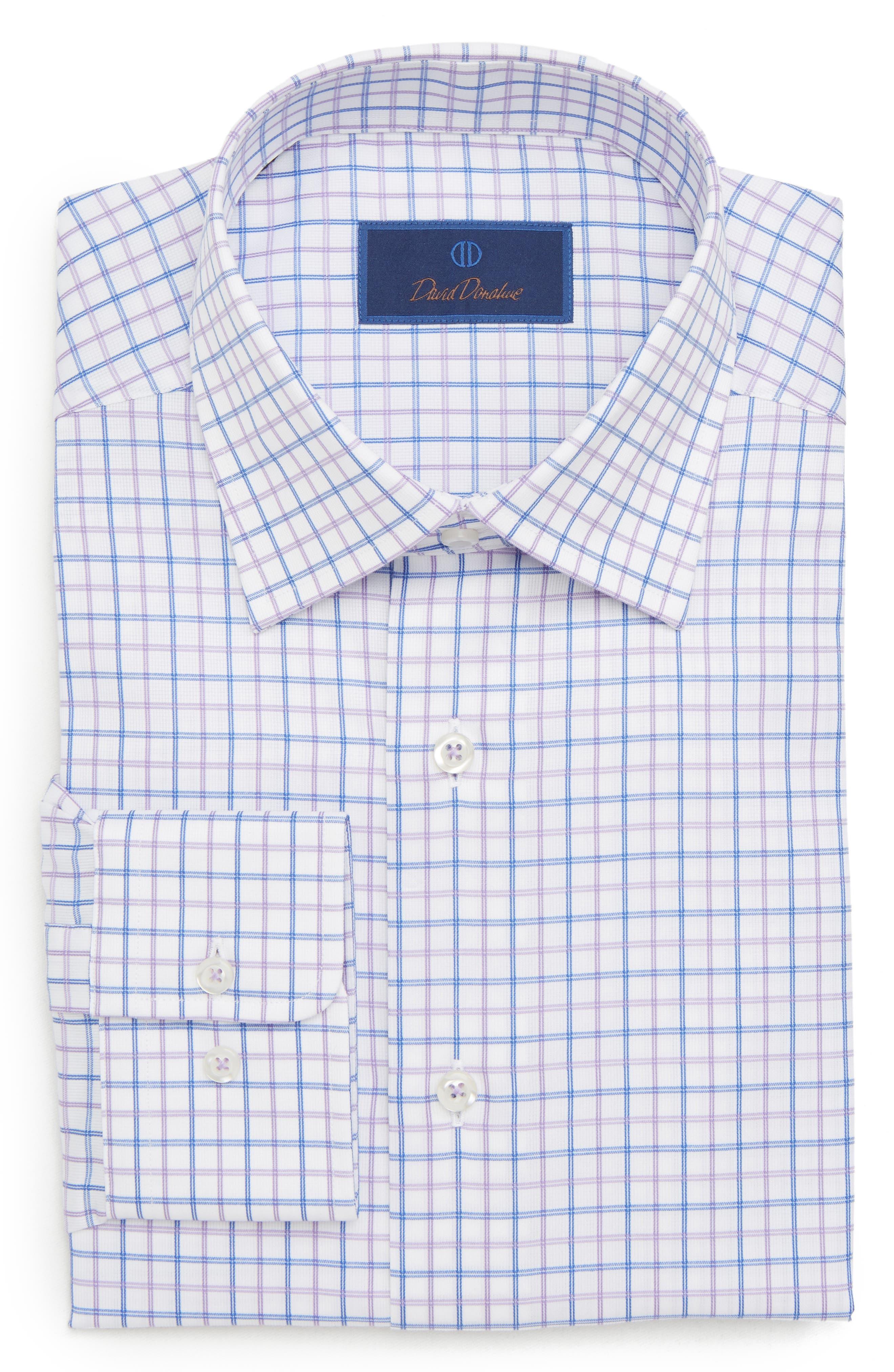 Regular Fit Check Dress Shirt,                             Alternate thumbnail 5, color,                             534