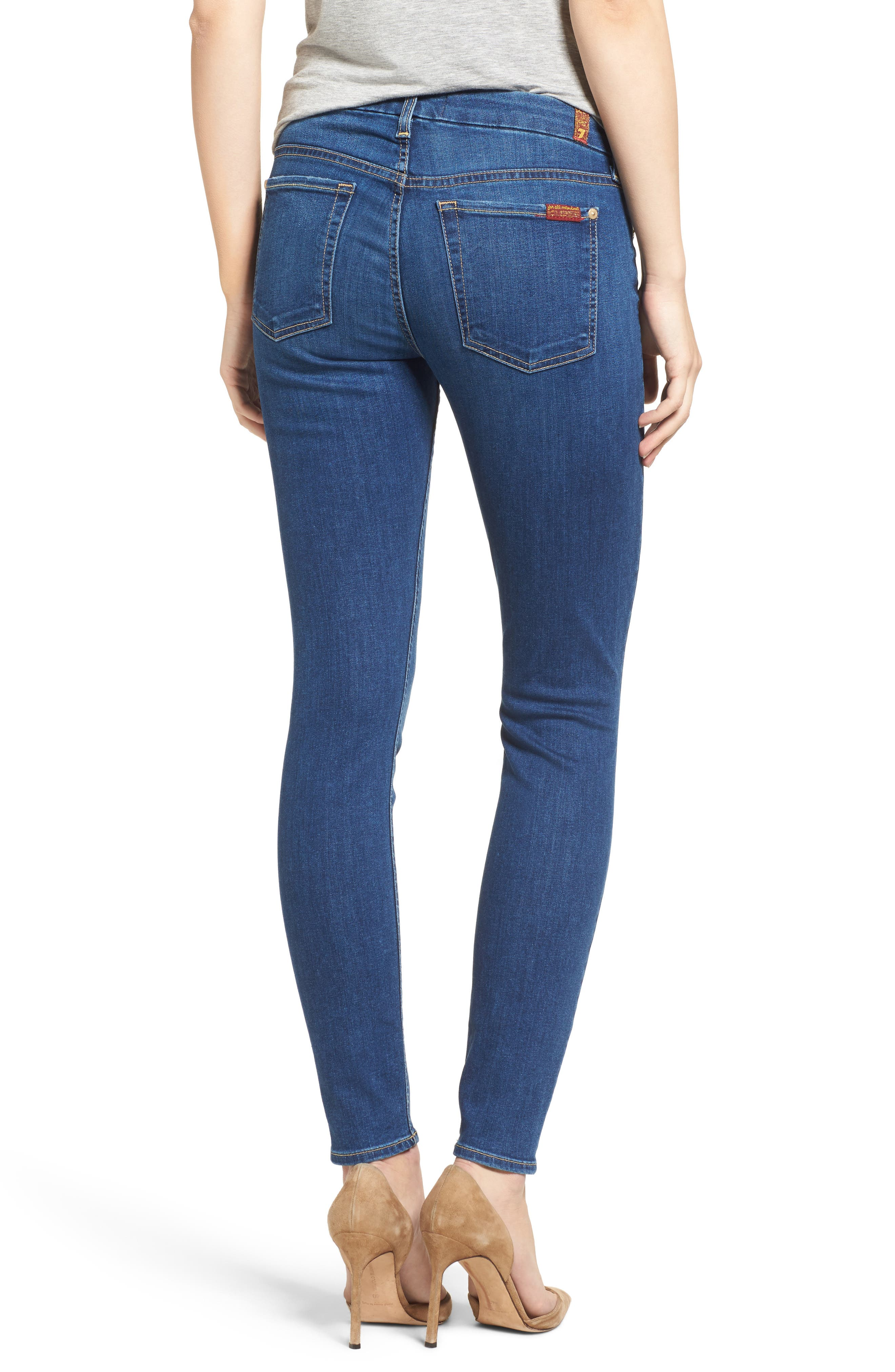 'b(air) - The Ankle' Skinny Jeans,                             Alternate thumbnail 16, color,