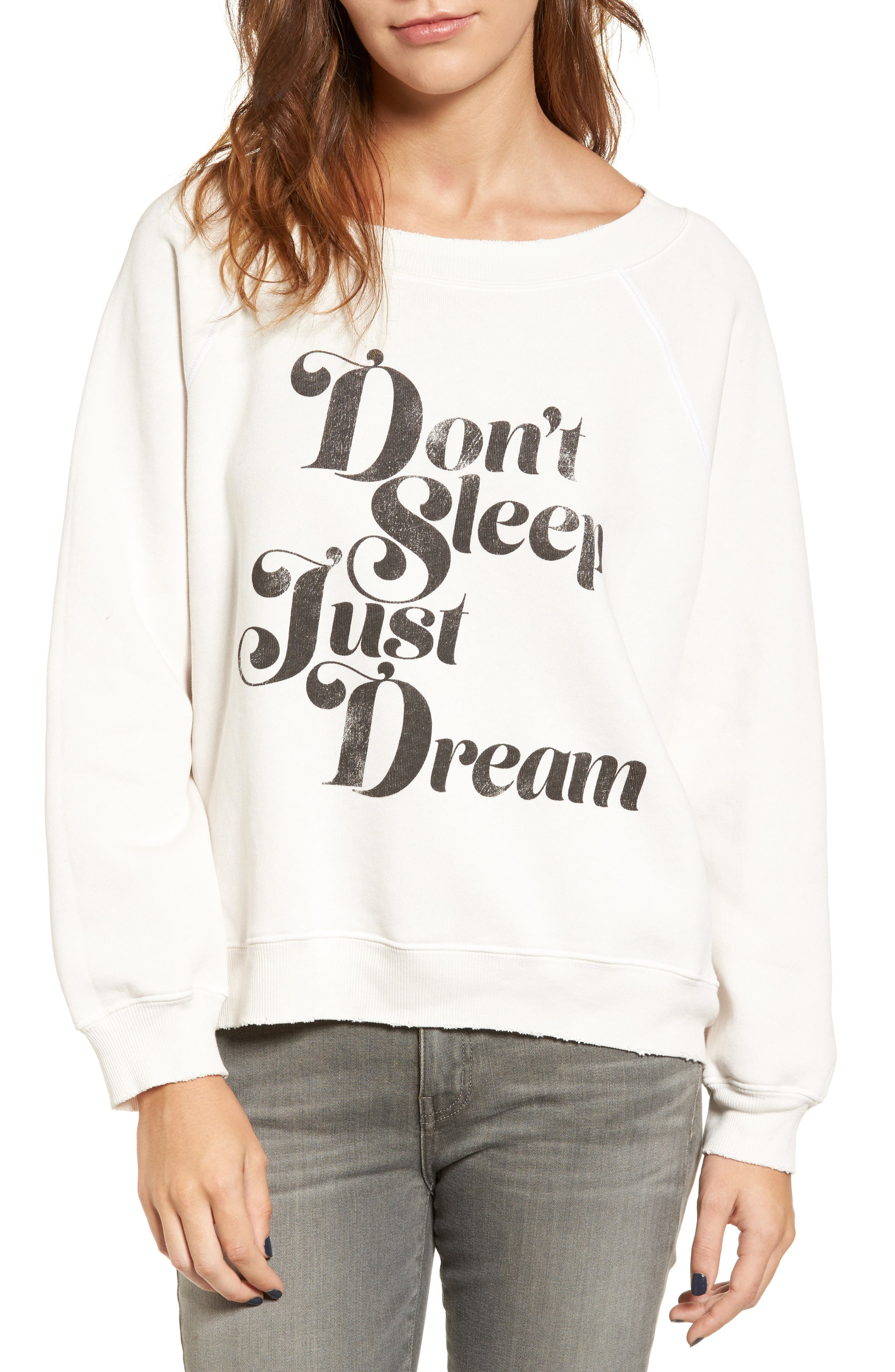 WILDFOX Sommers Sweater - Just Dream Pullover, Main, color, 020