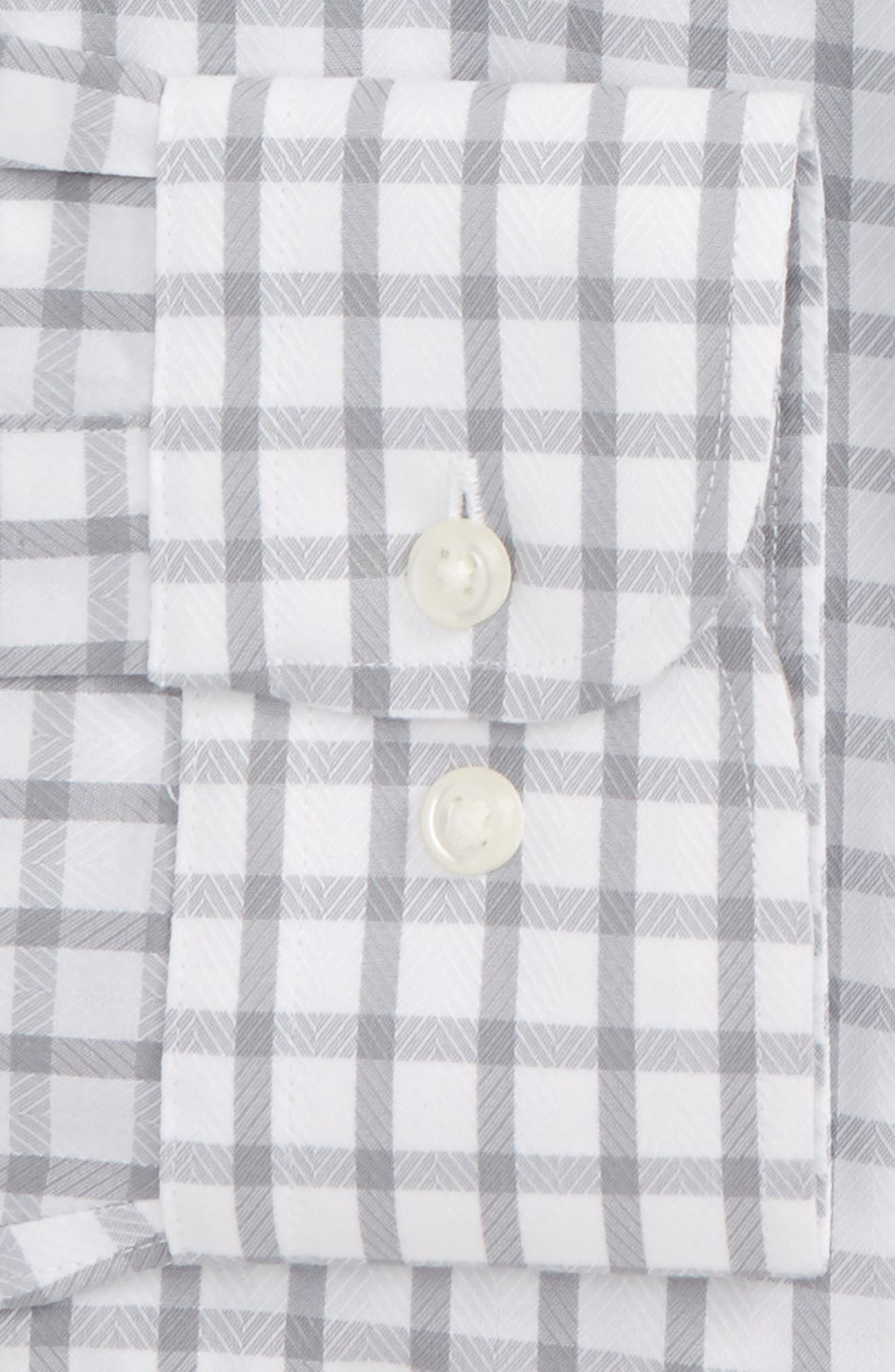 Smartcare<sup>™</sup> Traditional Fit Check Dress Shirt,                             Alternate thumbnail 6, color,                             050