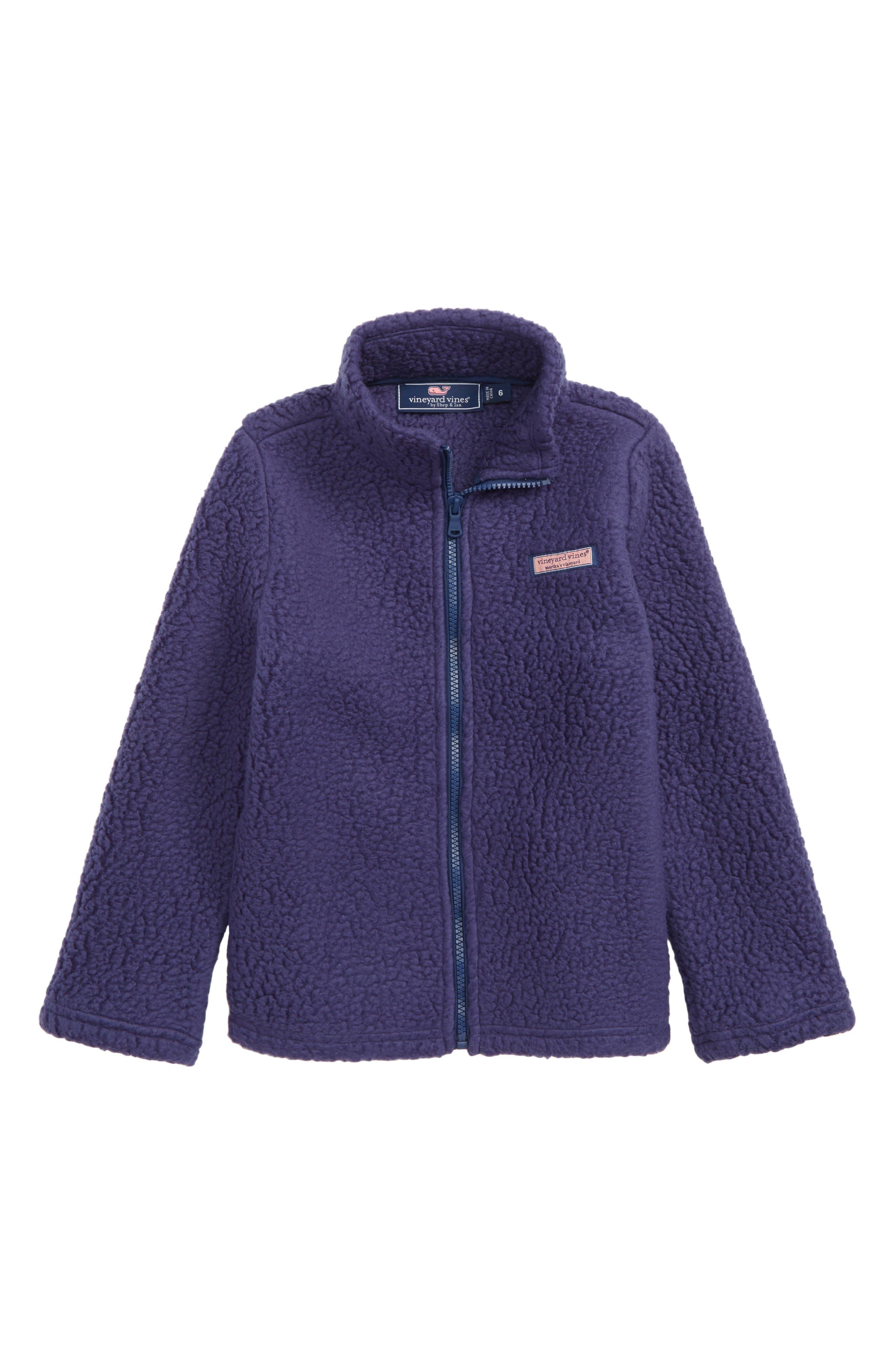 Heritage Fleece Sweatshirt,                         Main,                         color, MOONSHINE