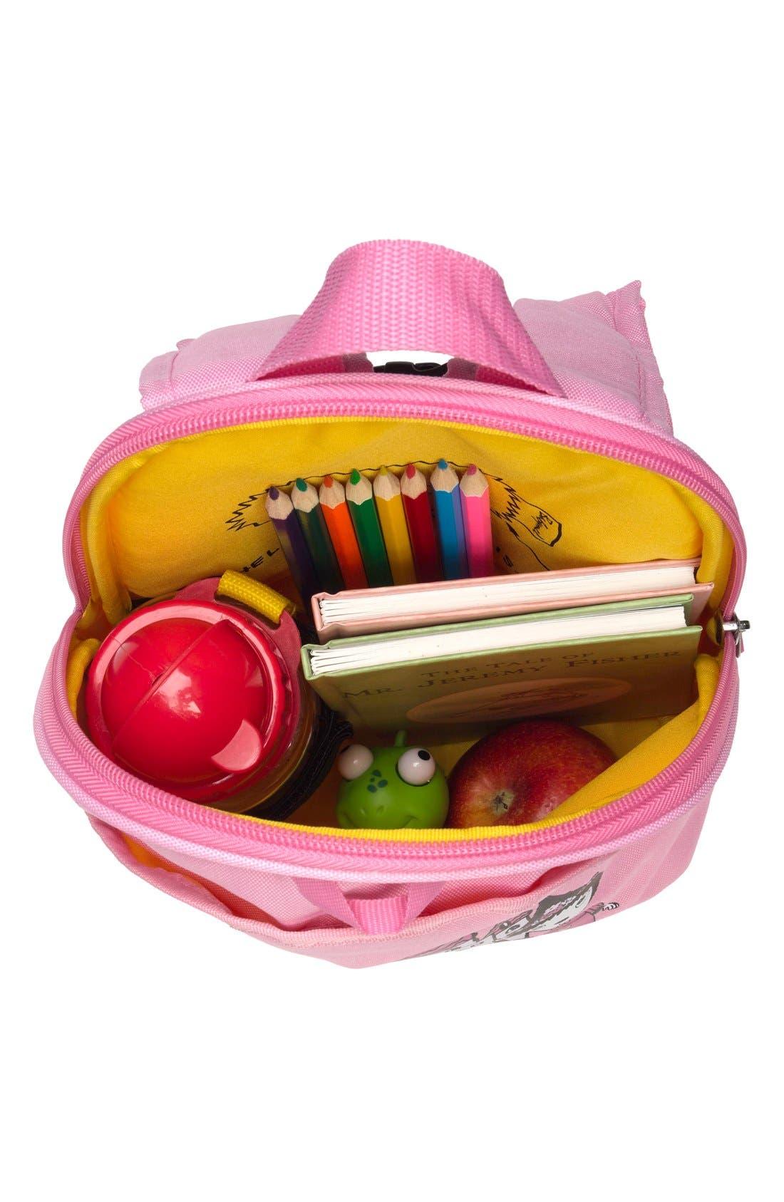 Graphic Mini Backpack,                             Alternate thumbnail 4, color,                             DAISY DRAGON CASTLE