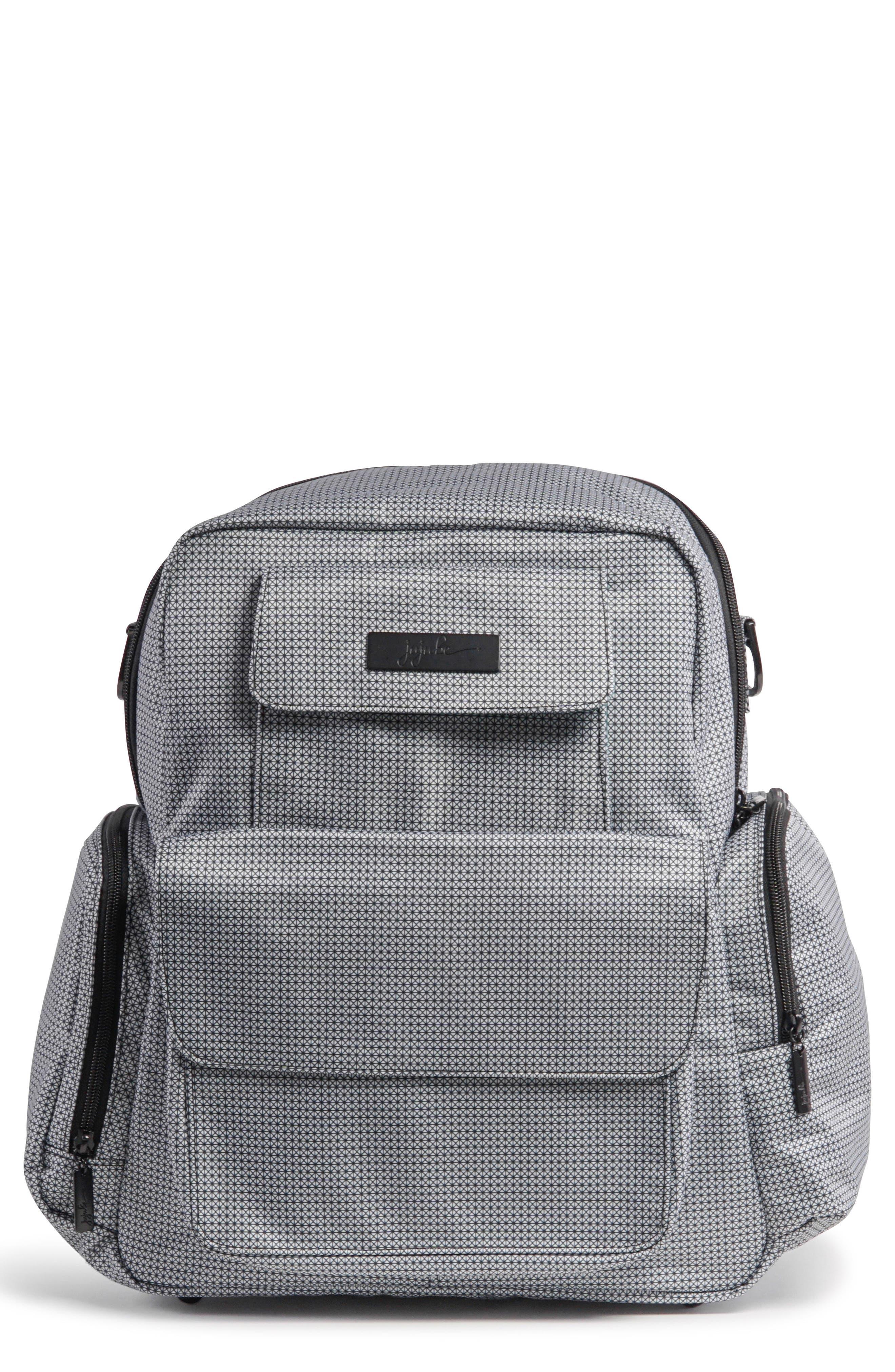 Be Nurtured Pumping Backpack,                             Main thumbnail 1, color,                             BLACK MATRIX