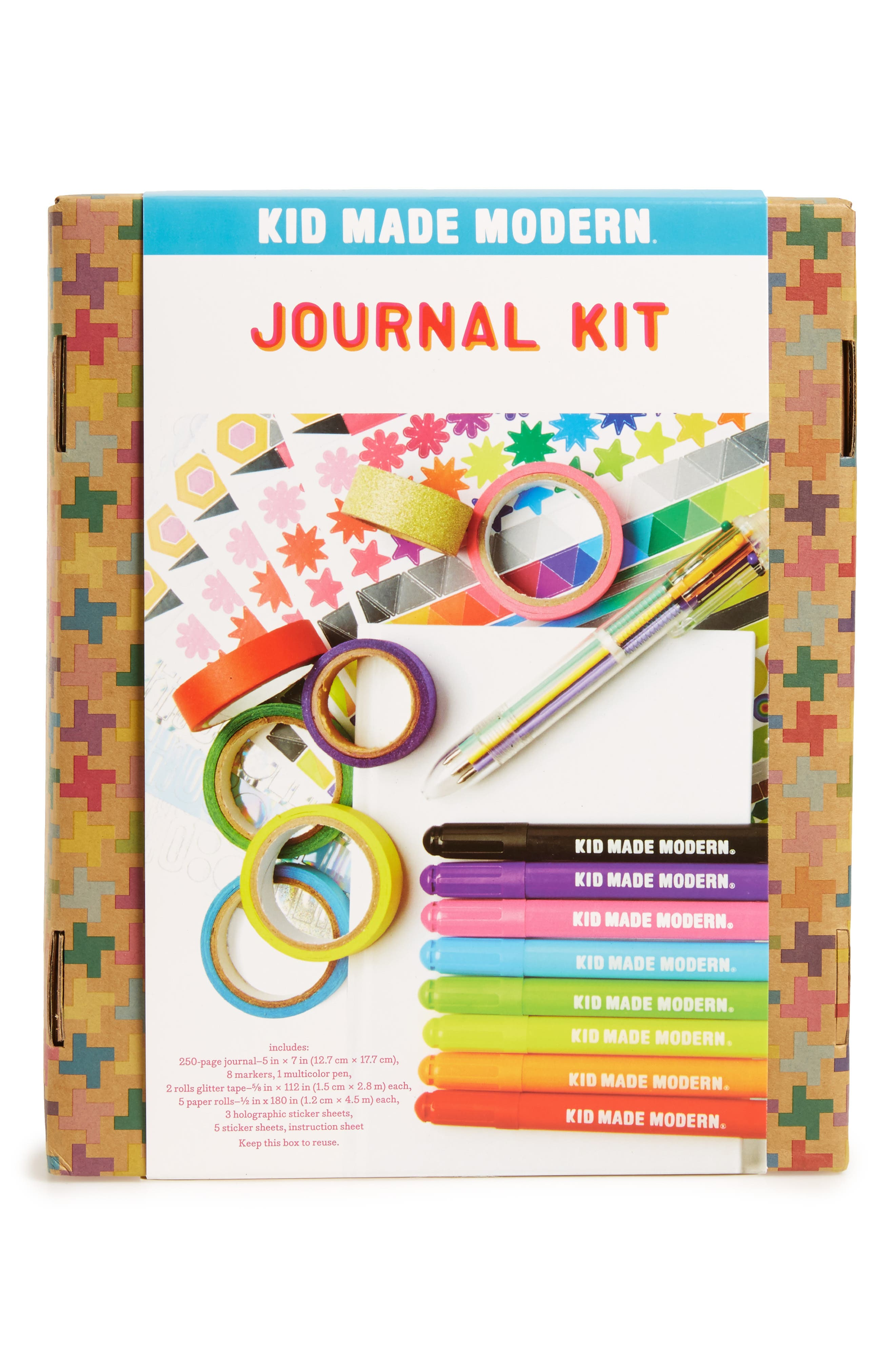 Journal Kit,                             Alternate thumbnail 2, color,                             MULTI